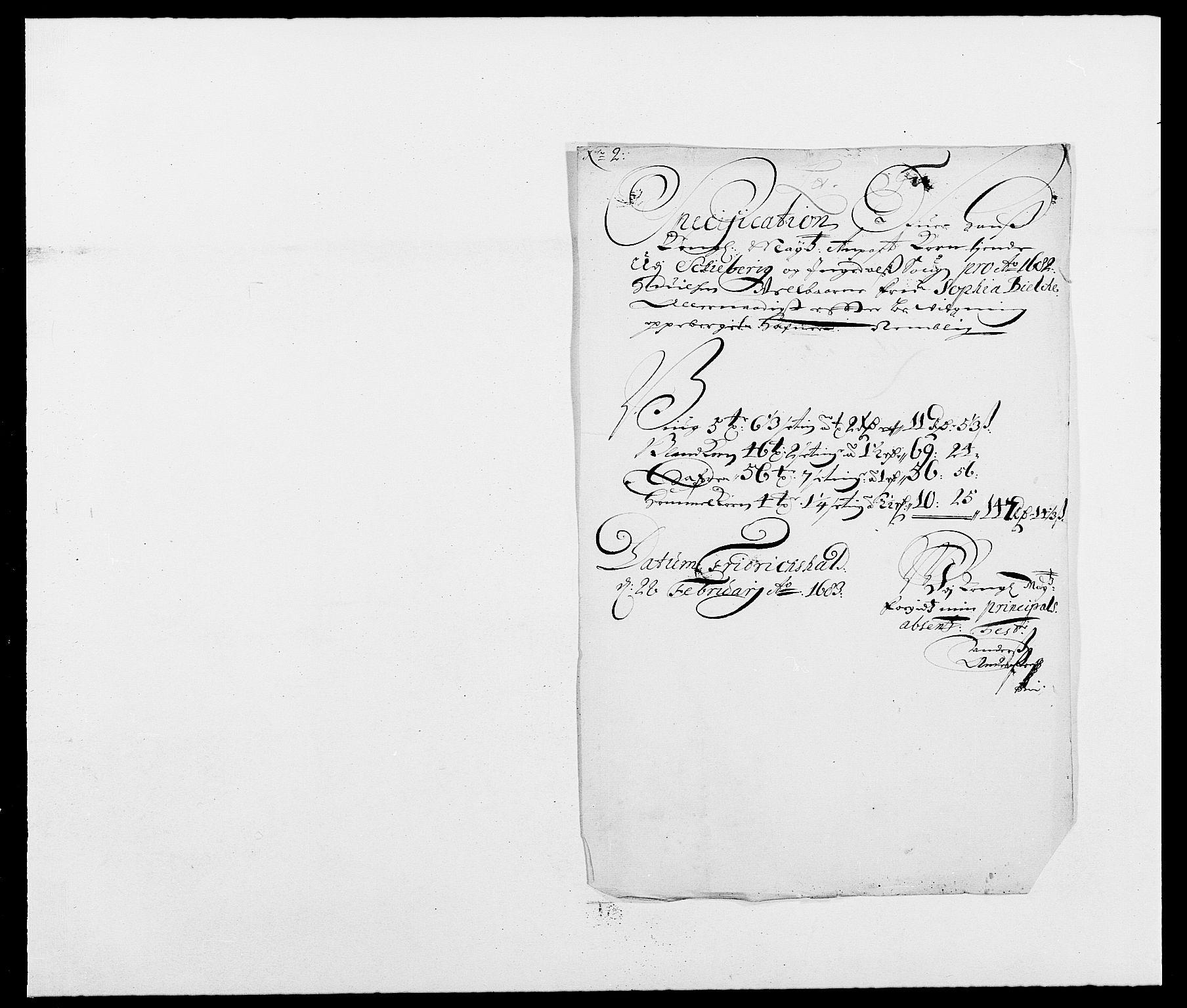 RA, Rentekammeret inntil 1814, Reviderte regnskaper, Fogderegnskap, R01/L0004: Fogderegnskap Idd og Marker , 1682-1683, s. 121