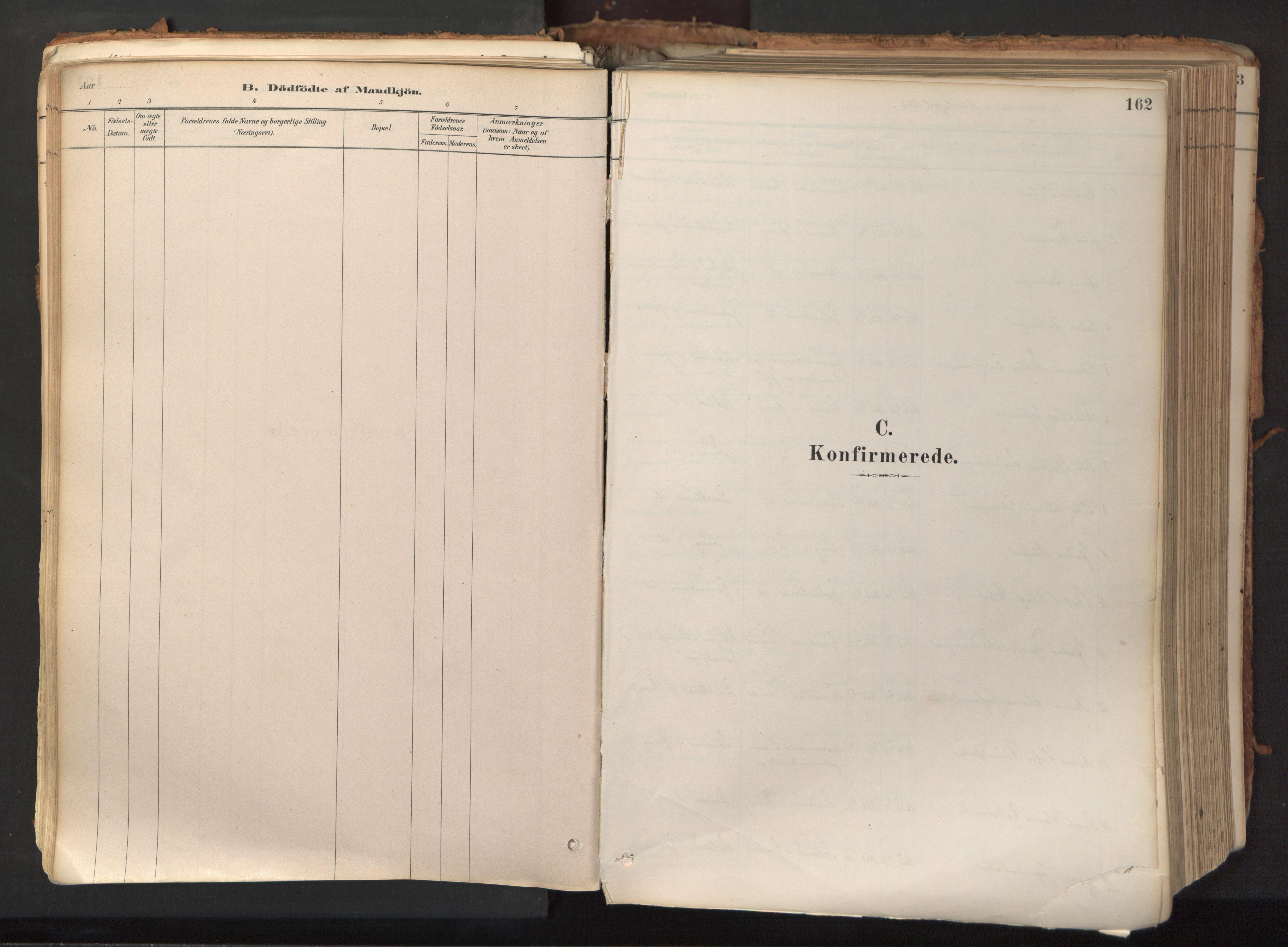 SAT, Ministerialprotokoller, klokkerbøker og fødselsregistre - Nord-Trøndelag, 758/L0519: Ministerialbok nr. 758A04, 1880-1926, s. 162