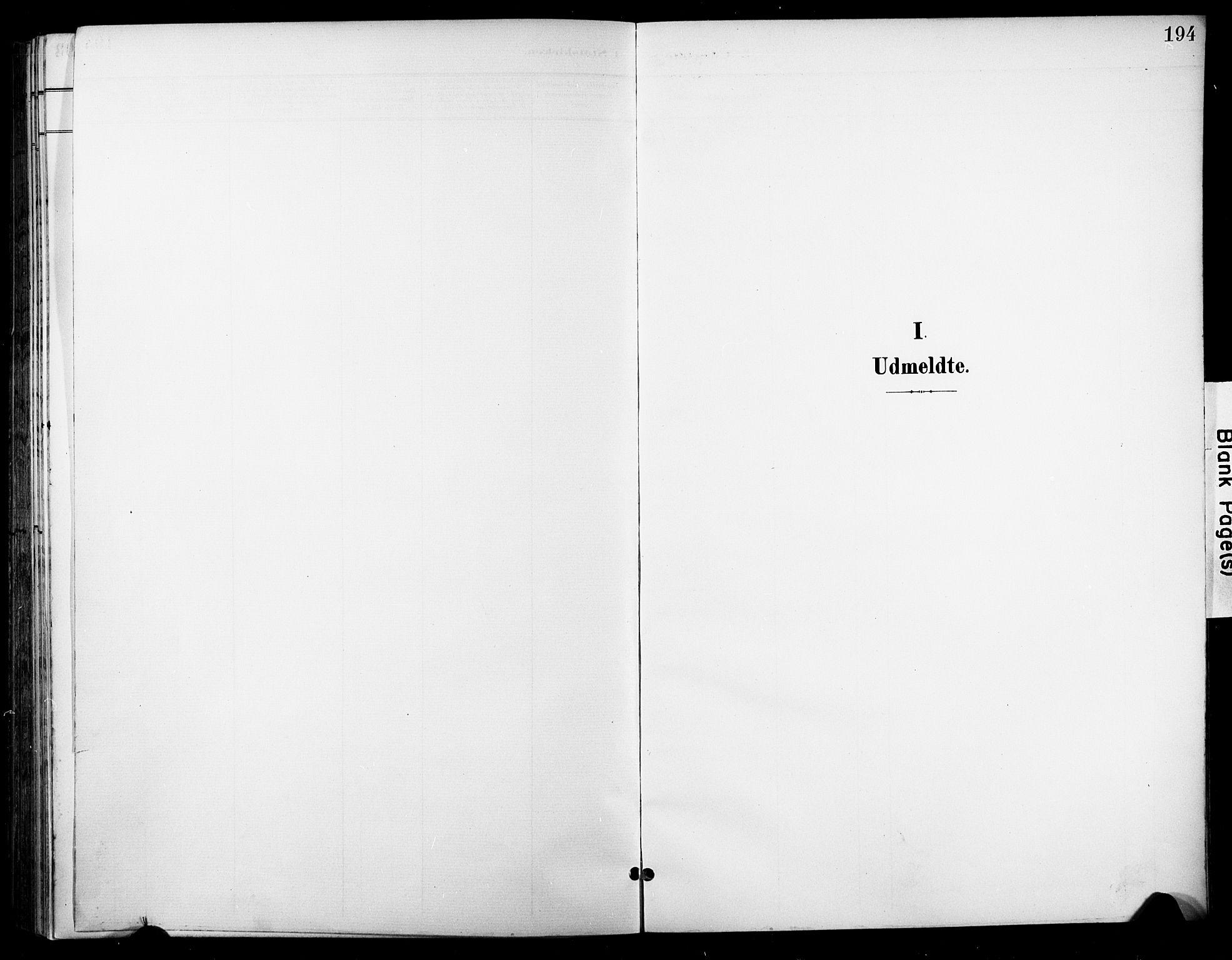 SAKO, Nore kirkebøker, F/Fc/L0005: Ministerialbok nr. III 5, 1898-1922, s. 194