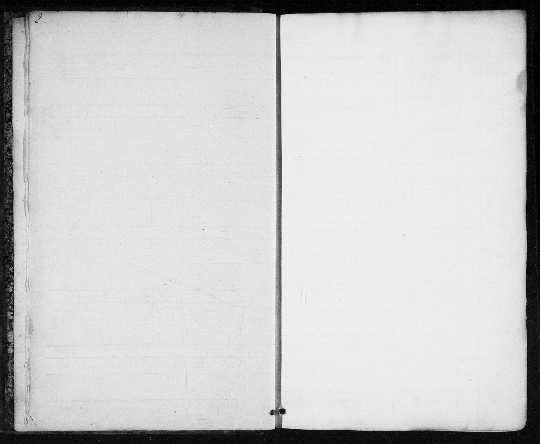 SAT, Ministerialprotokoller, klokkerbøker og fødselsregistre - Nord-Trøndelag, 717/L0154: Ministerialbok nr. 717A07 /1, 1850-1862, s. 2