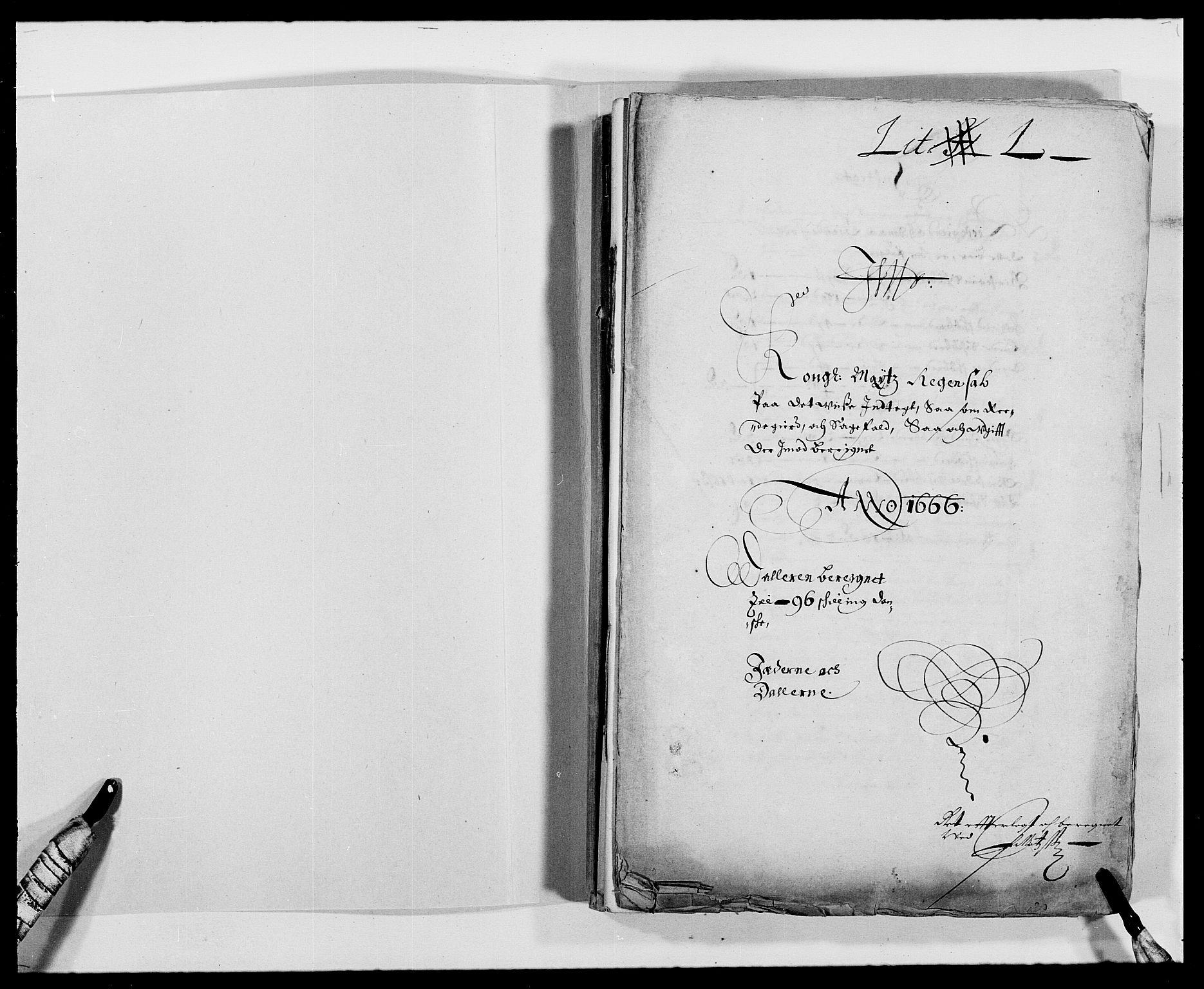 RA, Rentekammeret inntil 1814, Reviderte regnskaper, Fogderegnskap, R46/L2710: Fogderegnskap Jæren og Dalane, 1667, s. 2