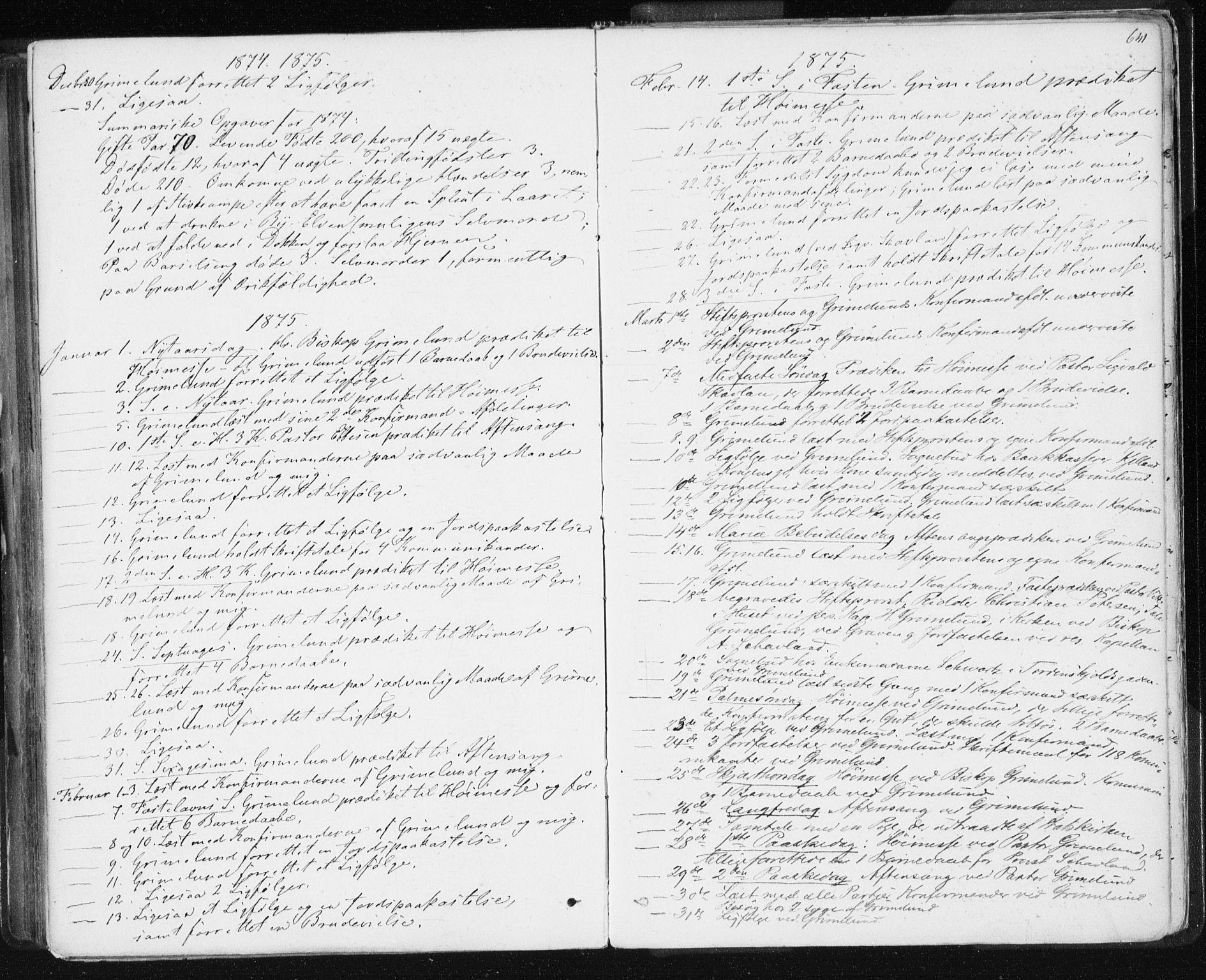 SAT, Ministerialprotokoller, klokkerbøker og fødselsregistre - Sør-Trøndelag, 601/L0055: Ministerialbok nr. 601A23, 1866-1877, s. 641