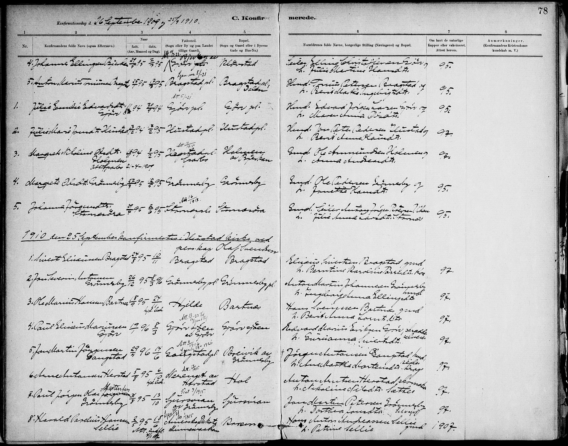 SAT, Ministerialprotokoller, klokkerbøker og fødselsregistre - Nord-Trøndelag, 732/L0316: Ministerialbok nr. 732A01, 1879-1921, s. 78