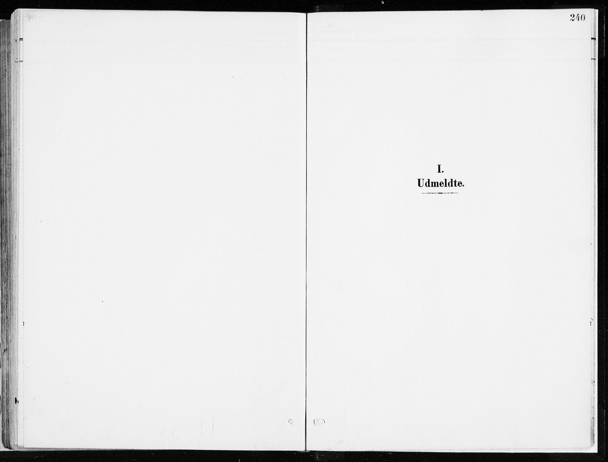 SAH, Ringsaker prestekontor, K/Ka/L0019: Ministerialbok nr. 19, 1905-1920, s. 240