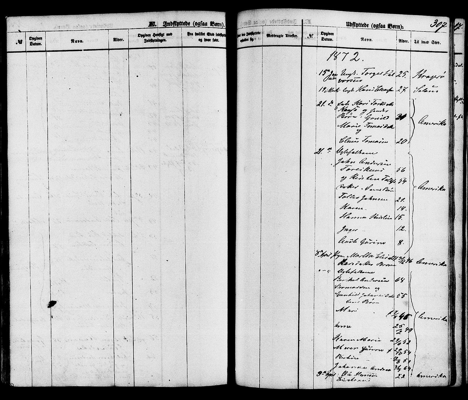 SAKO, Holla kirkebøker, F/Fa/L0007: Ministerialbok nr. 7, 1869-1881, s. 307