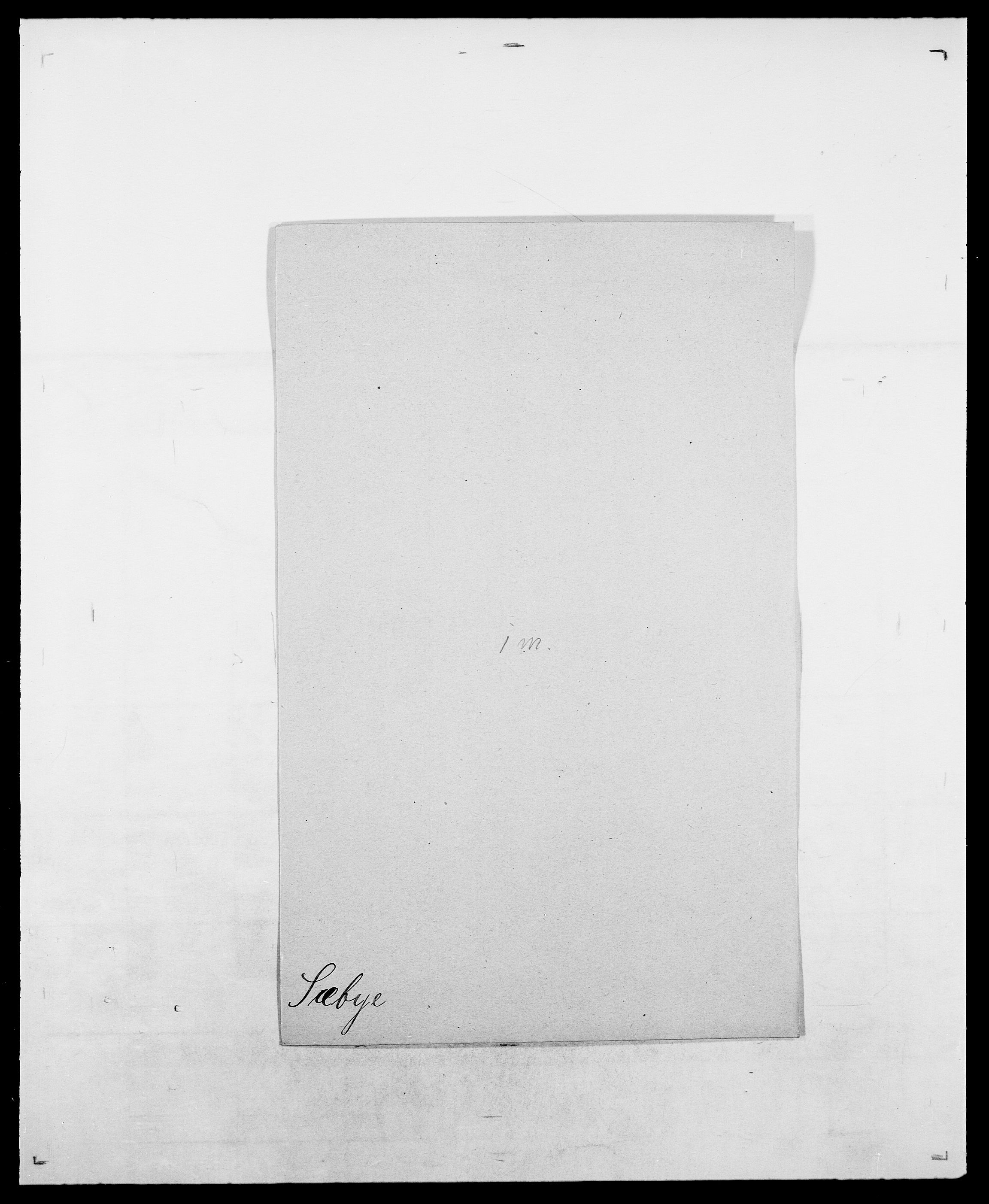 SAO, Delgobe, Charles Antoine - samling, D/Da/L0038: Svanenskjold - Thornsohn, s. 126
