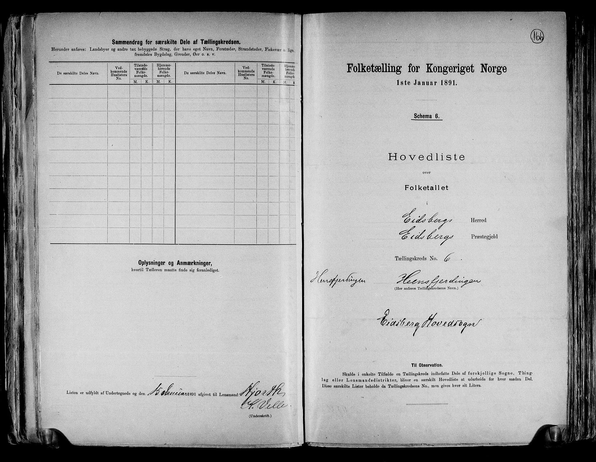 RA, Folketelling 1891 for 0125 Eidsberg herred, 1891, s. 18