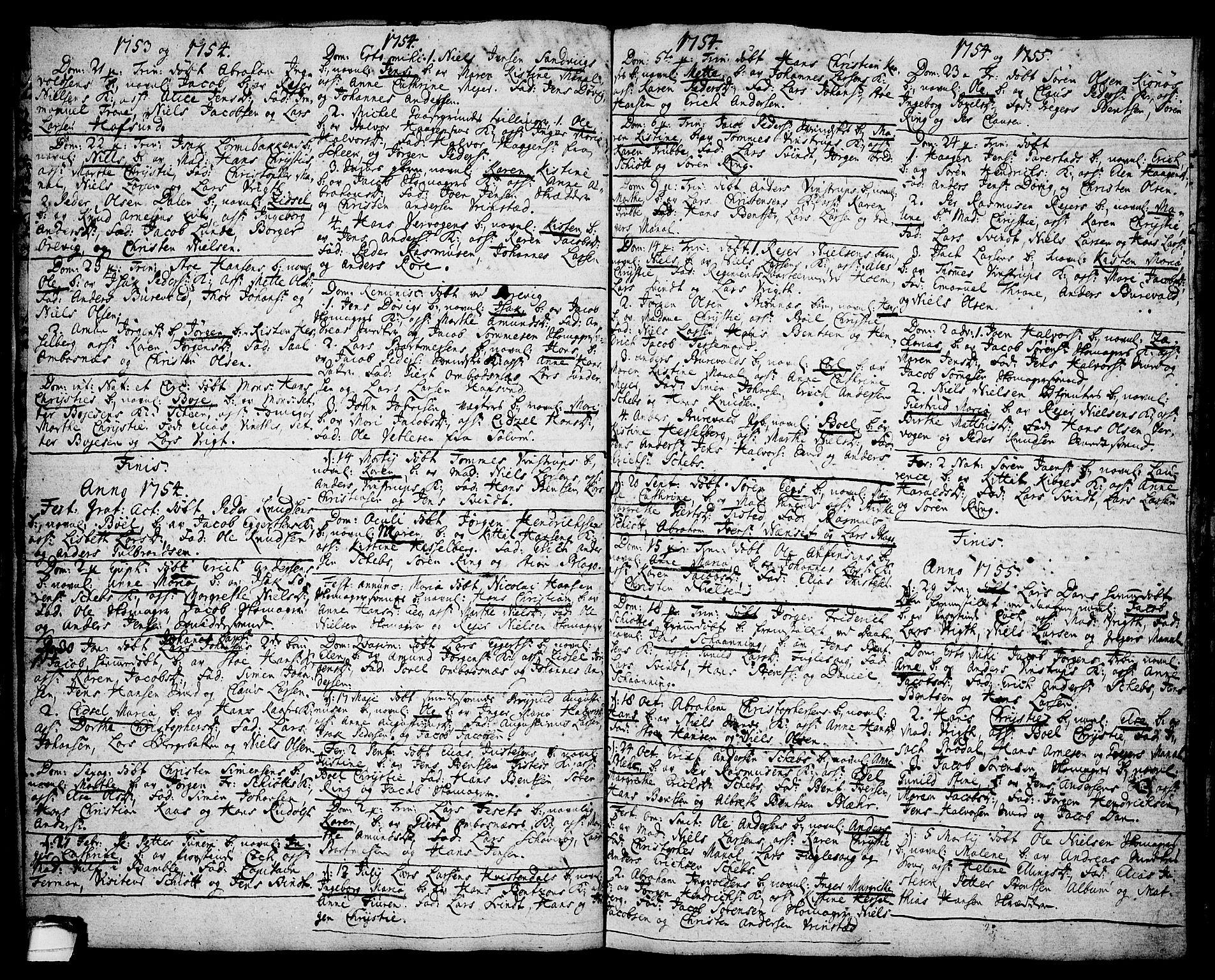 SAKO, Brevik kirkebøker, F/Fa/L0002: Ministerialbok nr. 2, 1720-1764, s. 35c