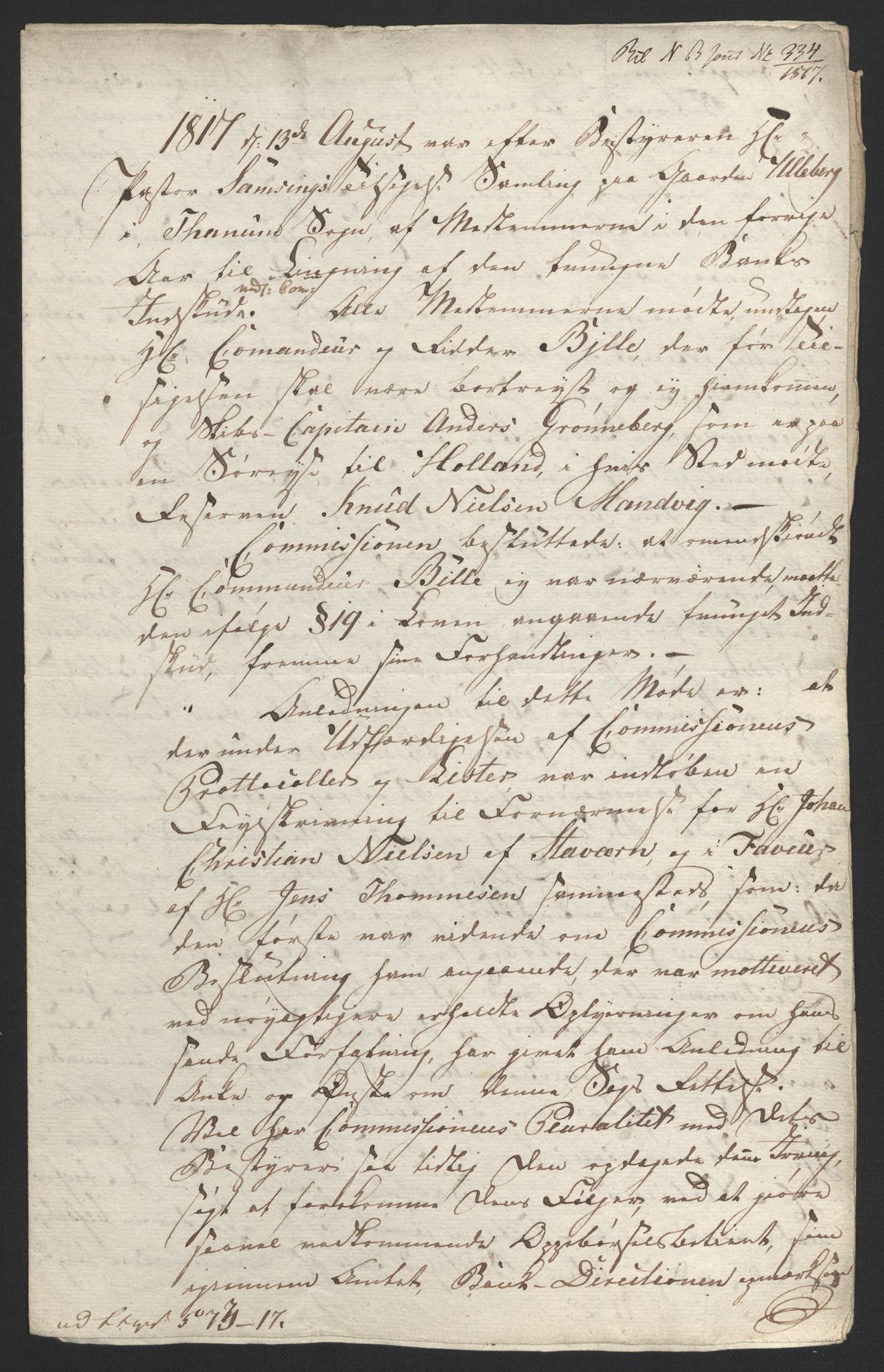 NOBA, Norges Bank/Sølvskatten 1816*, 1816-1824, s. 35