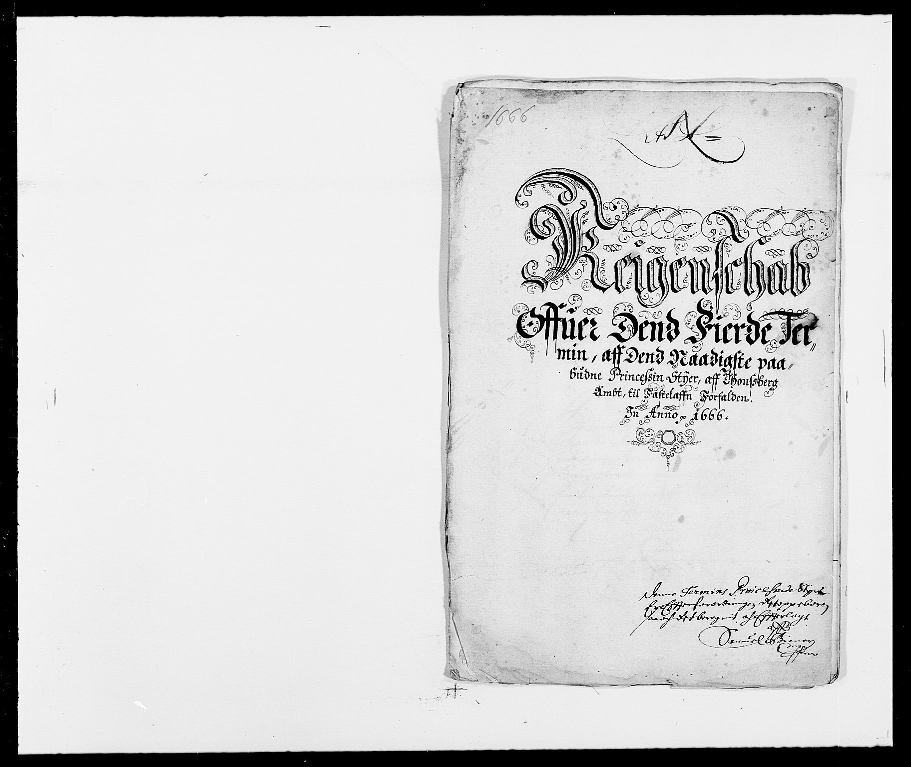 RA, Rentekammeret inntil 1814, Reviderte regnskaper, Fogderegnskap, R32/L1840: Fogderegnskap Jarlsberg grevskap, 1664-1673, s. 55