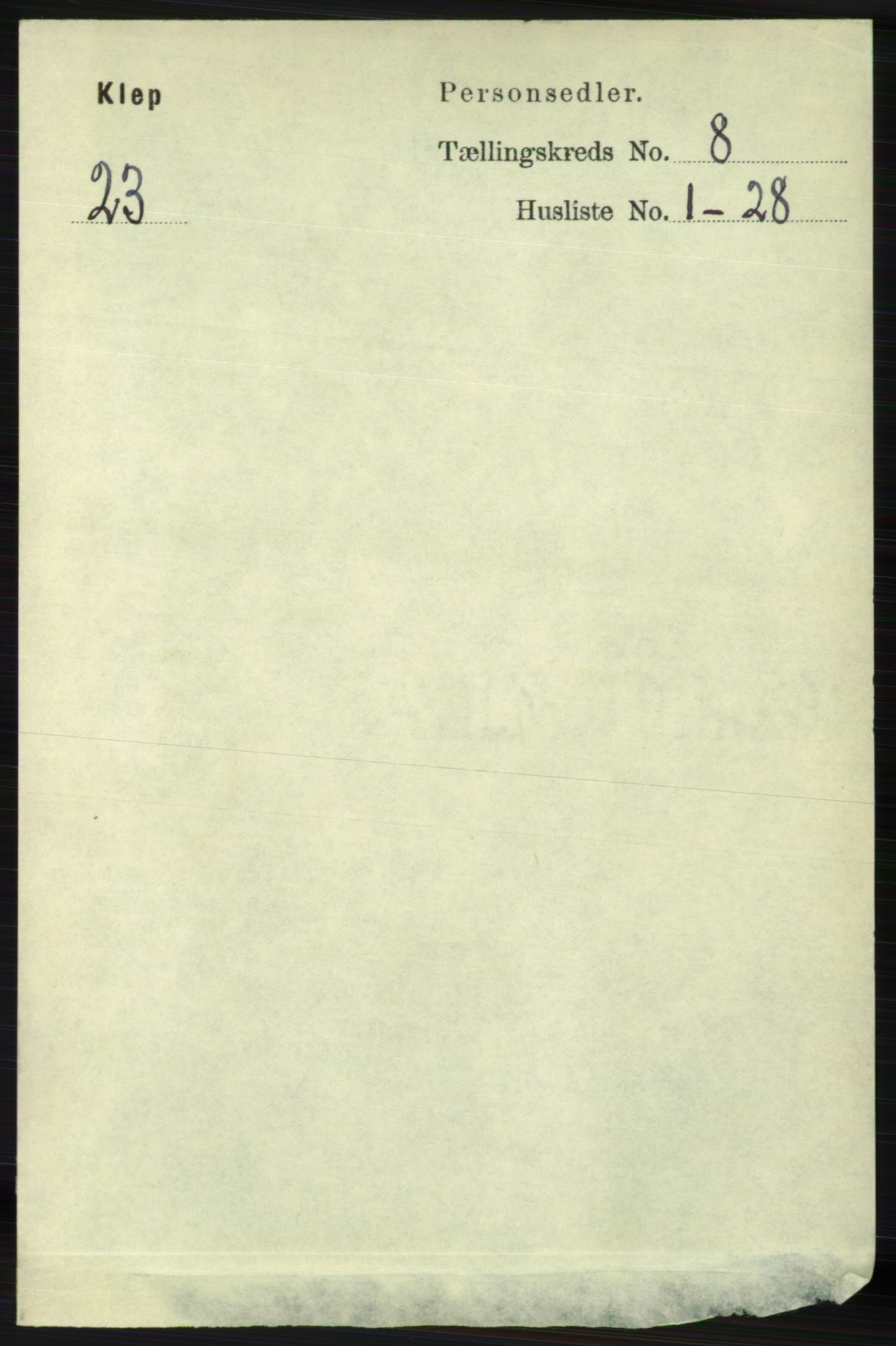 RA, Folketelling 1891 for 1120 Klepp herred, 1891, s. 2504