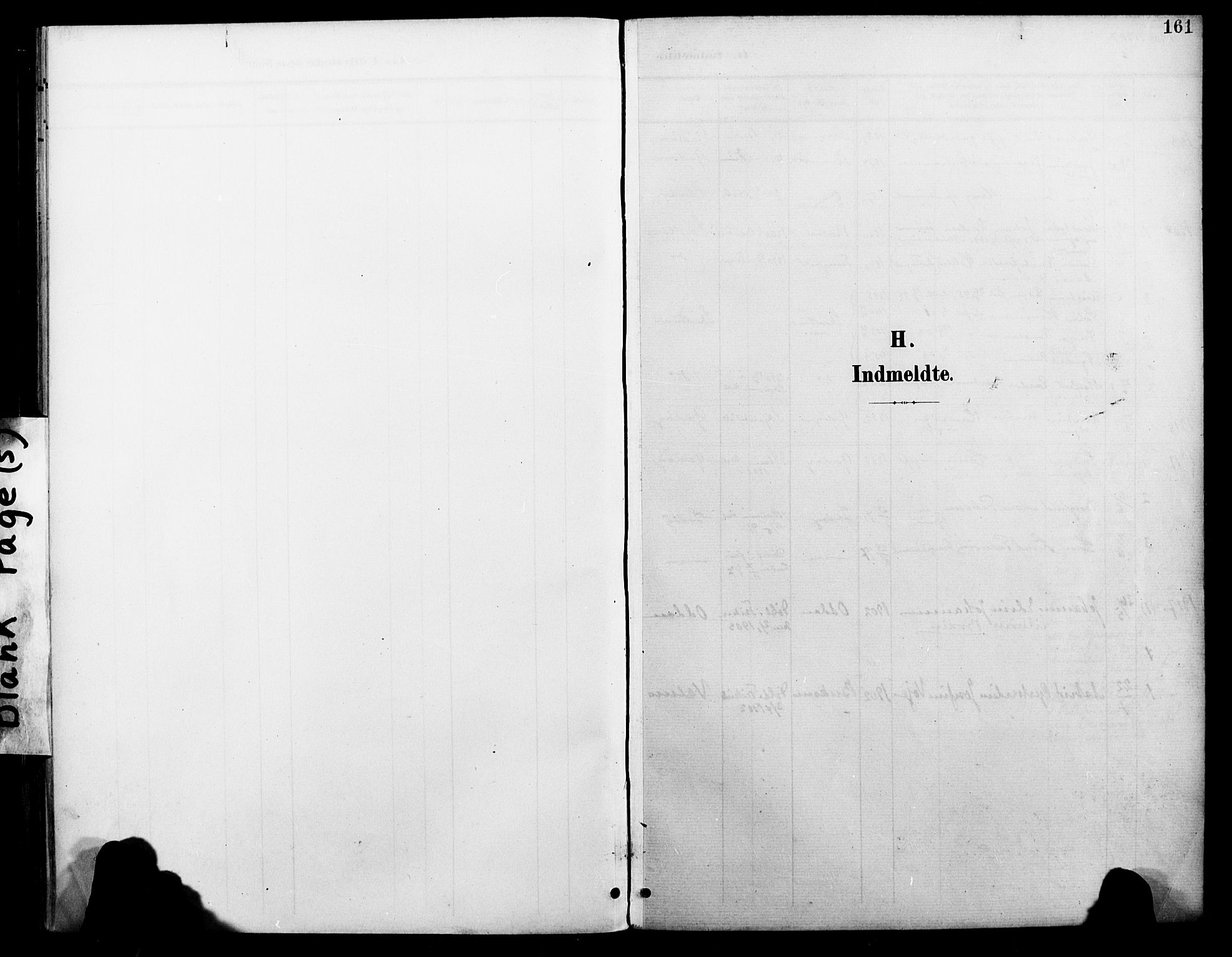 SAT, Ministerialprotokoller, klokkerbøker og fødselsregistre - Nordland, 804/L0088: Klokkerbok nr. 804C01, 1901-1917, s. 161