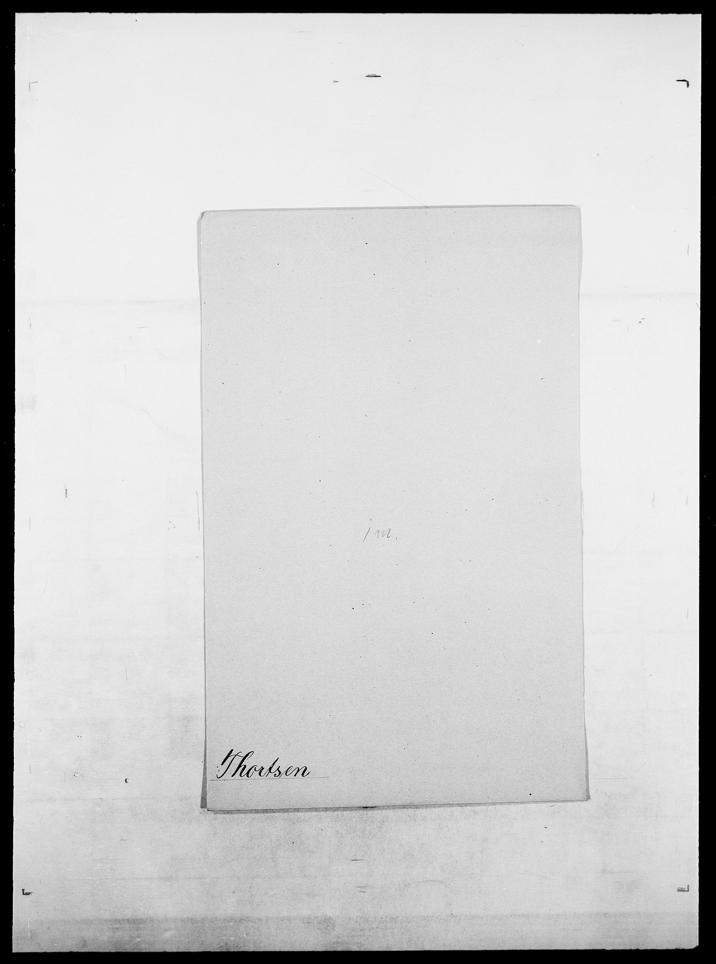 SAO, Delgobe, Charles Antoine - samling, D/Da/L0038: Svanenskjold - Thornsohn, s. 913