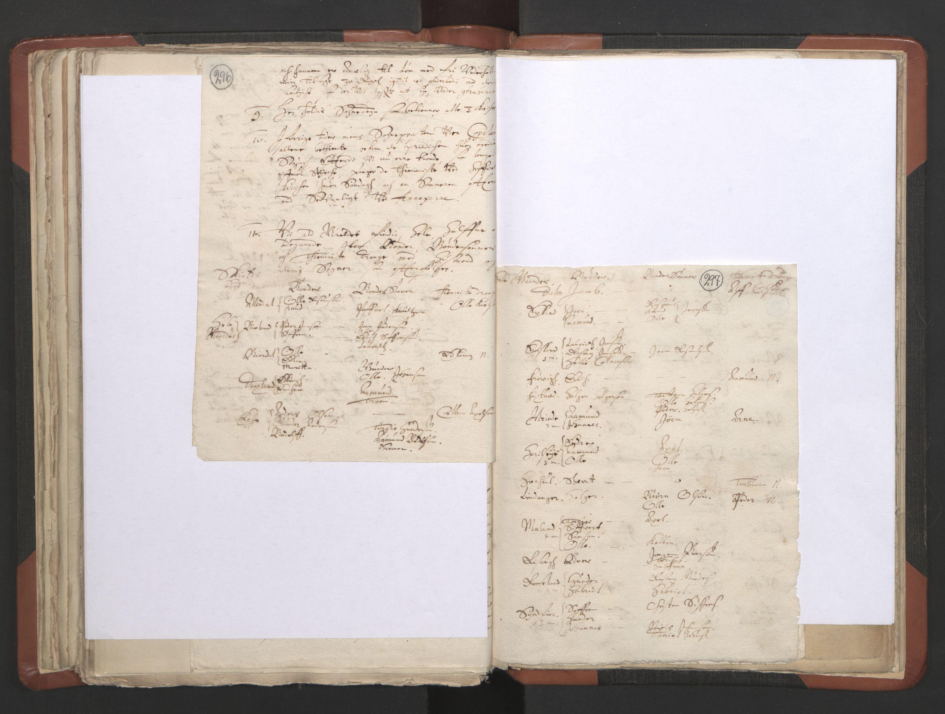 RA, Sogneprestenes manntall 1664-1666, nr. 19: Ryfylke prosti, 1664-1666, s. 296-297