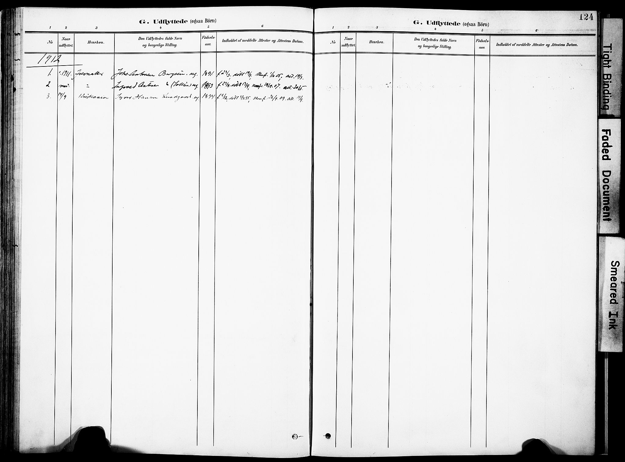 SAH, Nordre Land prestekontor, Ministerialbok nr. 6, 1897-1914, s. 124