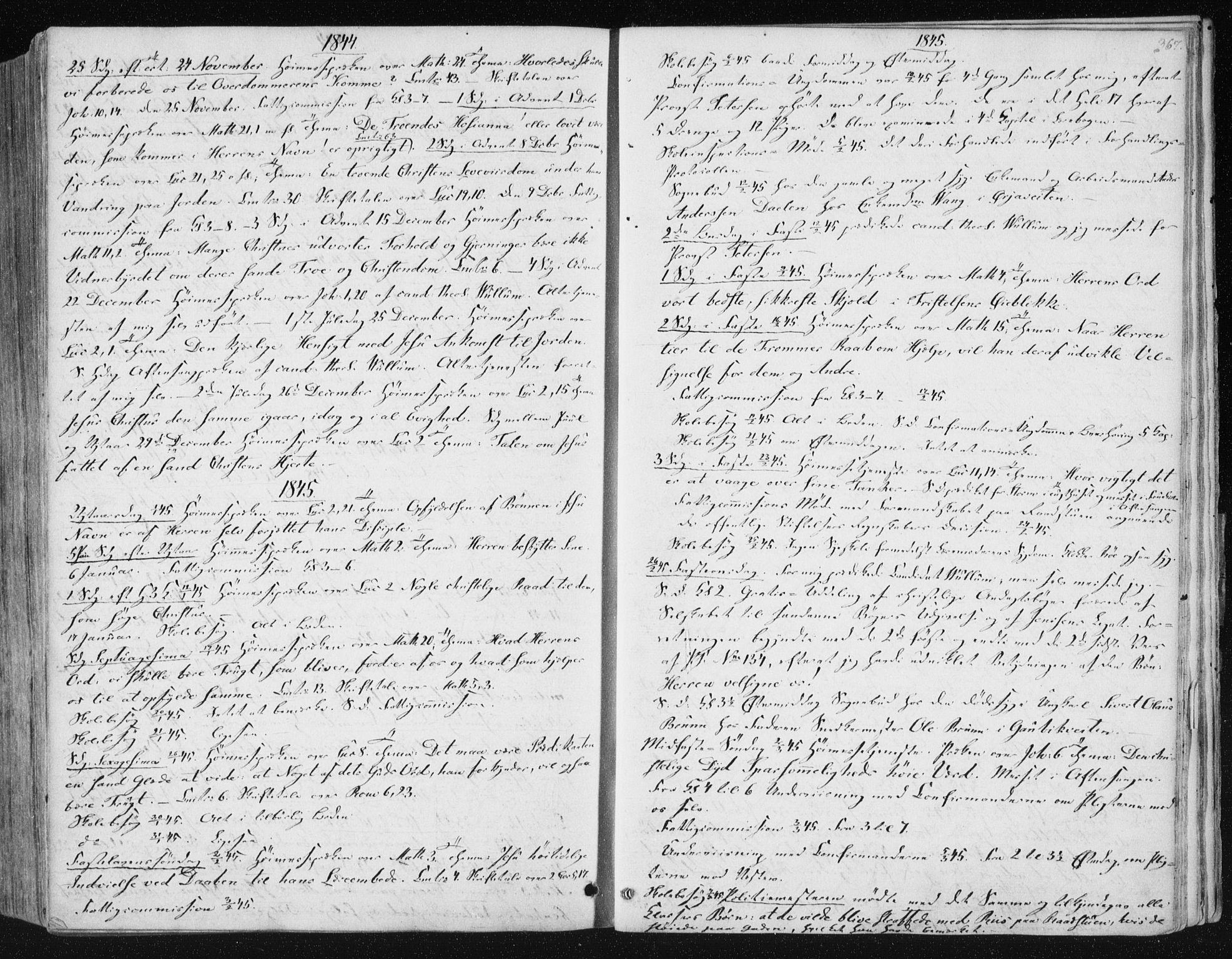 SAT, Ministerialprotokoller, klokkerbøker og fødselsregistre - Sør-Trøndelag, 602/L0110: Ministerialbok nr. 602A08, 1840-1854, s. 367