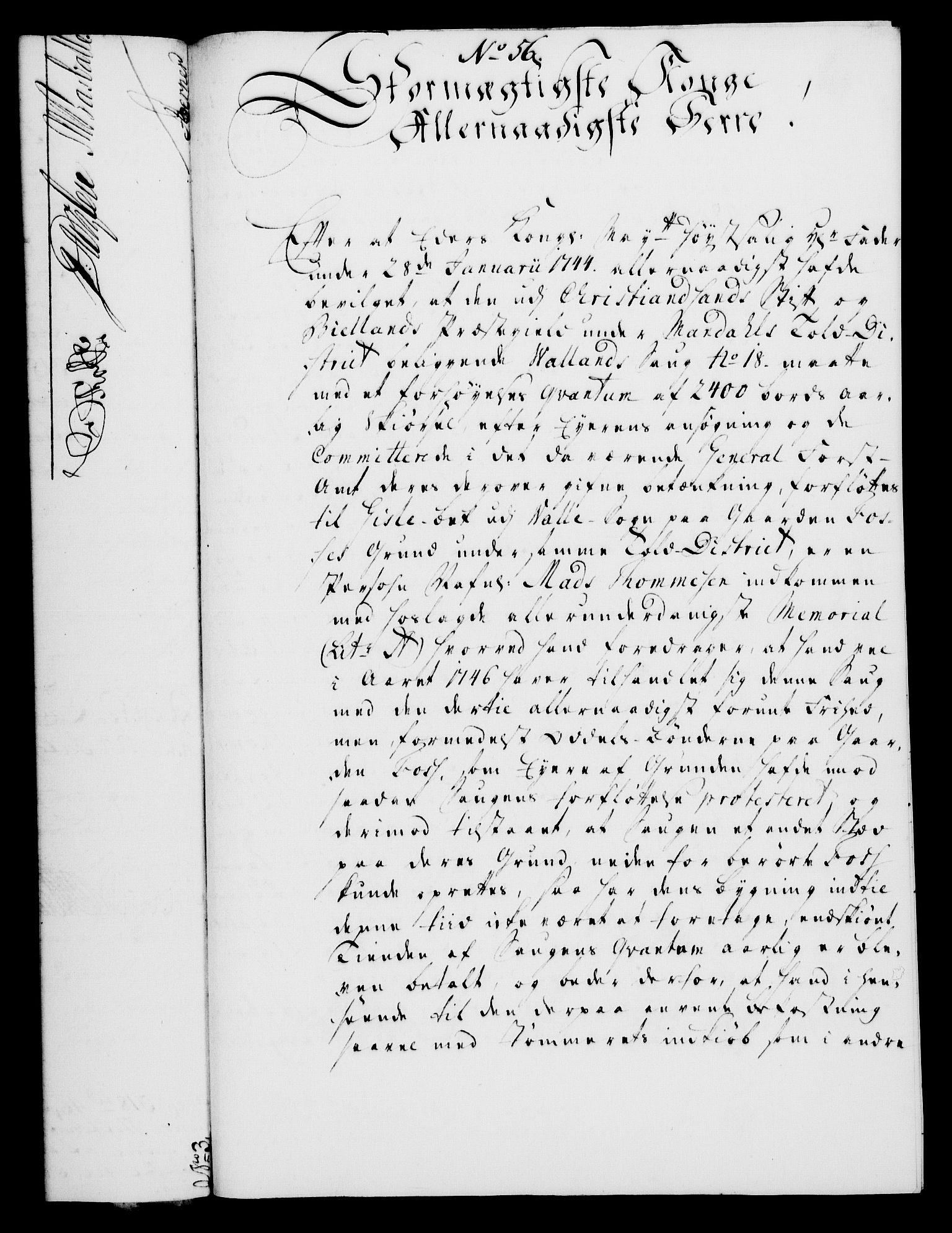RA, Rentekammeret, Kammerkanselliet, G/Gf/Gfa/L0030: Norsk relasjons- og resolusjonsprotokoll (merket RK 52.30), 1748, s. 363