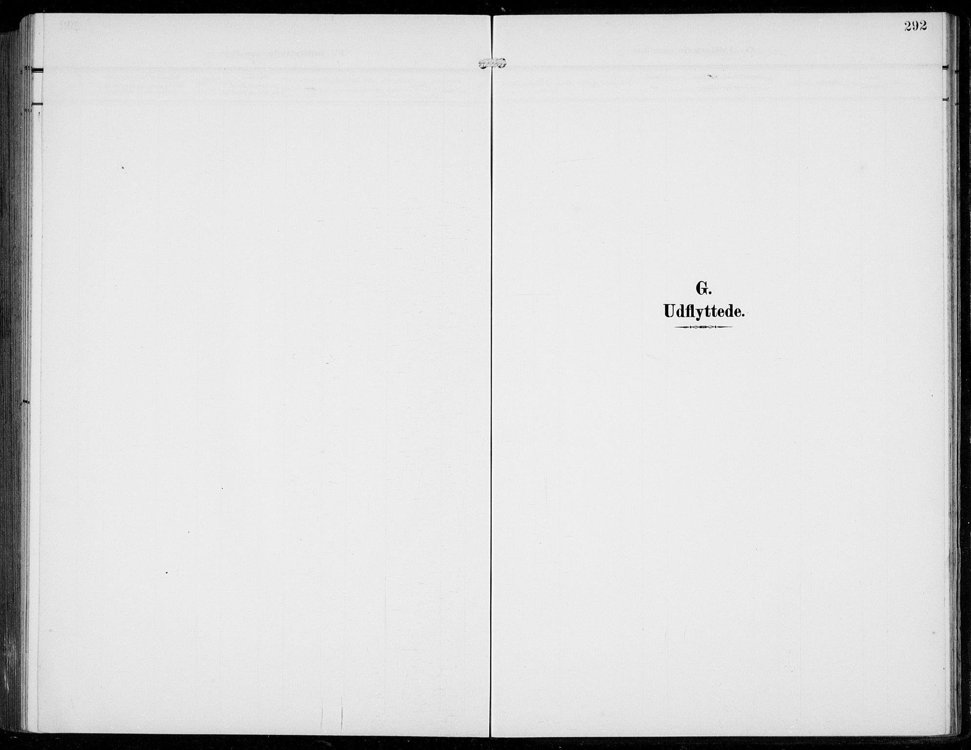 SAB, Bruvik Sokneprestembete, H/Hab: Klokkerbok nr. A  4, 1908-1937, s. 292