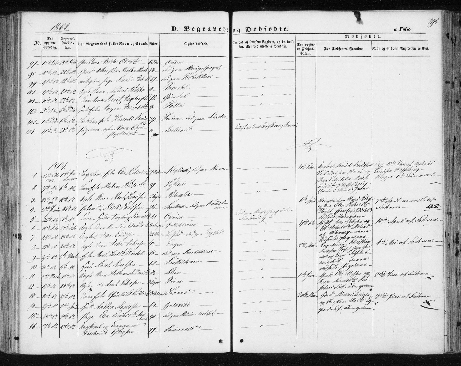 SAT, Ministerialprotokoller, klokkerbøker og fødselsregistre - Sør-Trøndelag, 668/L0806: Ministerialbok nr. 668A06, 1854-1869, s. 295