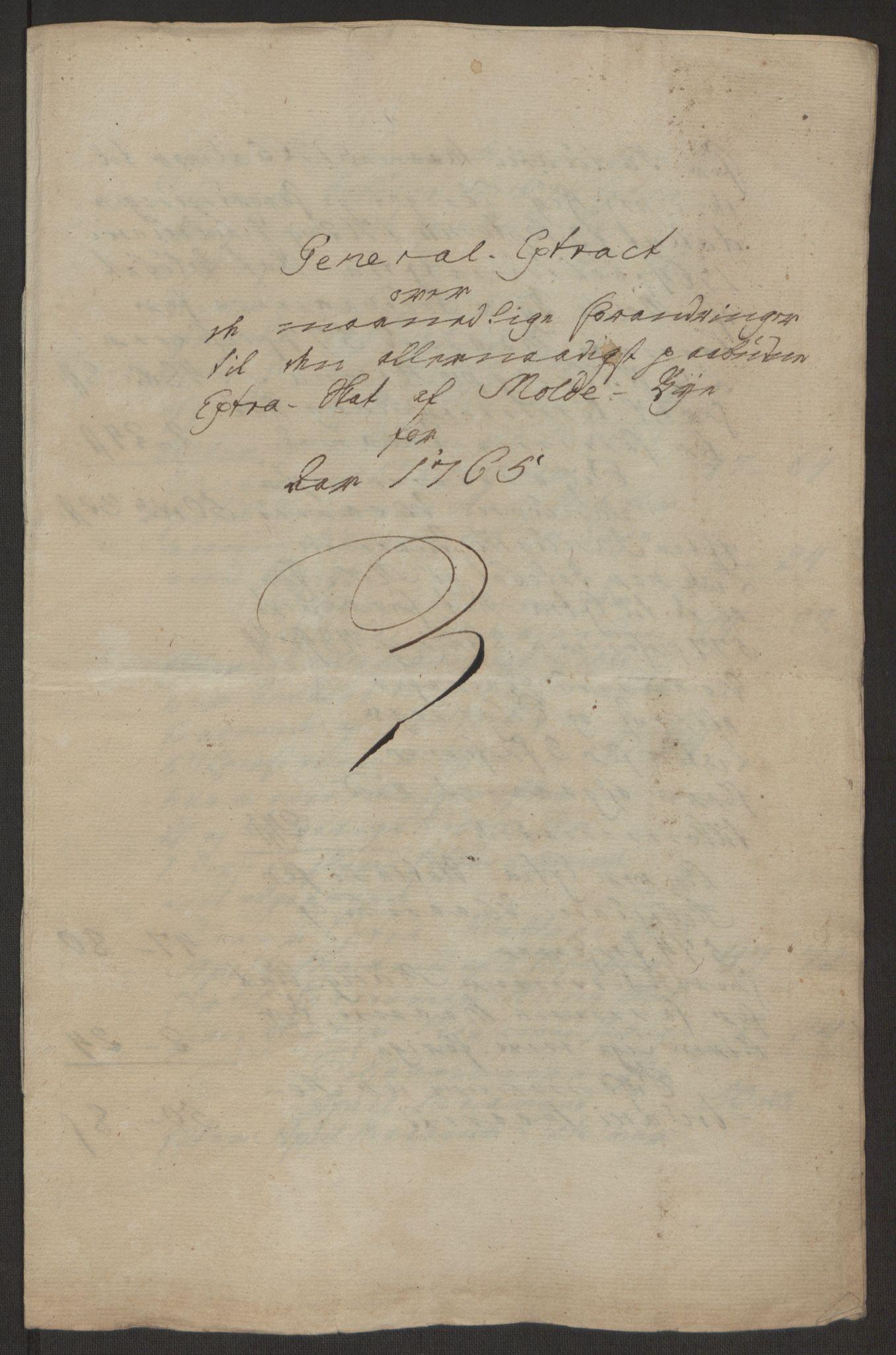 RA, Rentekammeret inntil 1814, Reviderte regnskaper, Byregnskaper, R/Rq/L0487: [Q1] Kontribusjonsregnskap, 1762-1772, s. 115