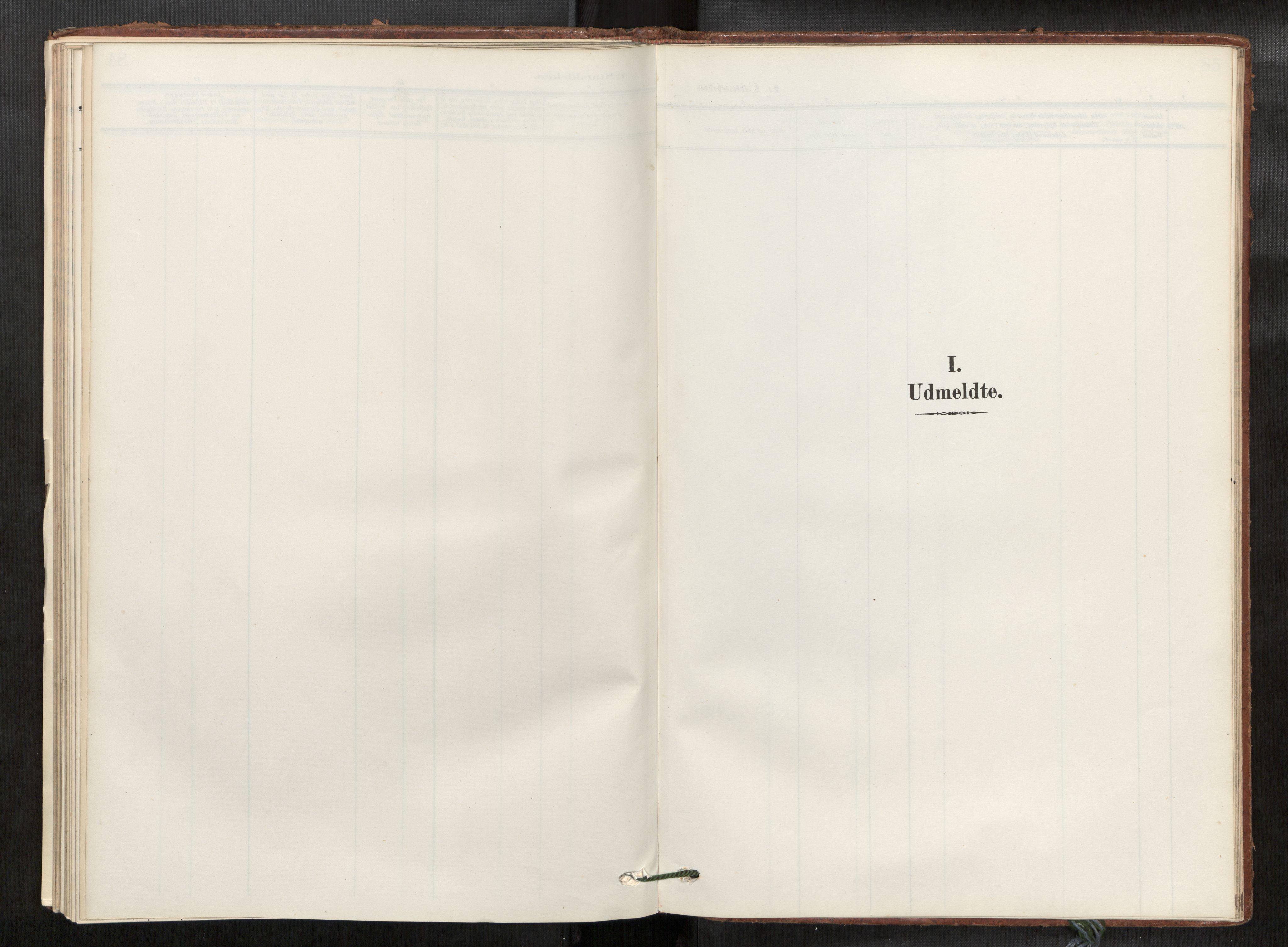 SAT, Verdal sokneprestkontor*, Ministerialbok nr. 2, 1907-1921
