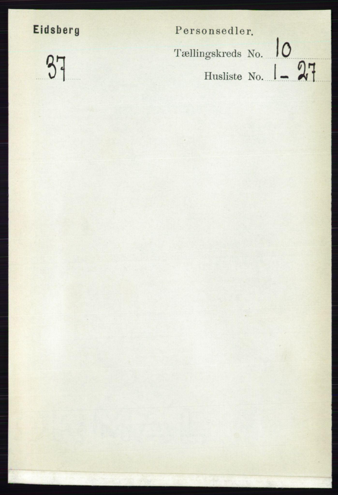 RA, Folketelling 1891 for 0125 Eidsberg herred, 1891, s. 5668