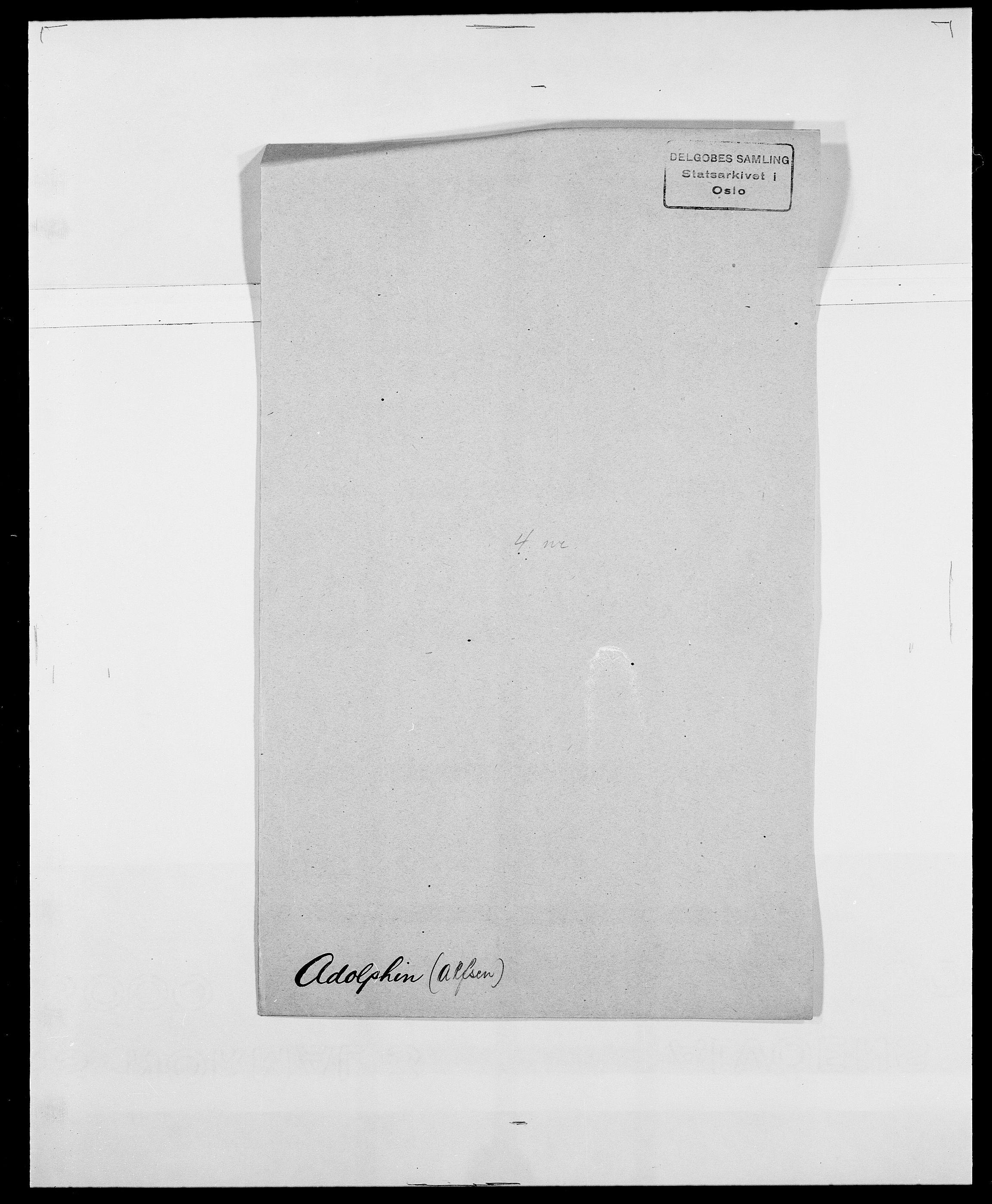 SAO, Delgobe, Charles Antoine - samling, D/Da/L0001: Aabye - Angerman, s. 272