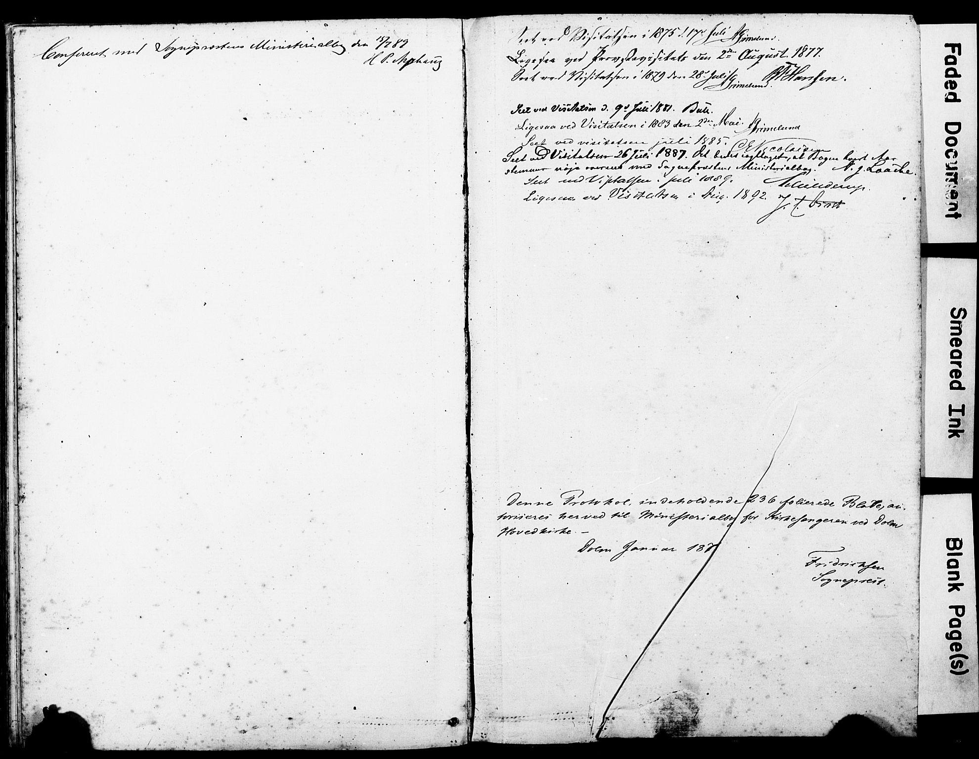 SAT, Ministerialprotokoller, klokkerbøker og fødselsregistre - Sør-Trøndelag, 634/L0541: Klokkerbok nr. 634C03, 1874-1891