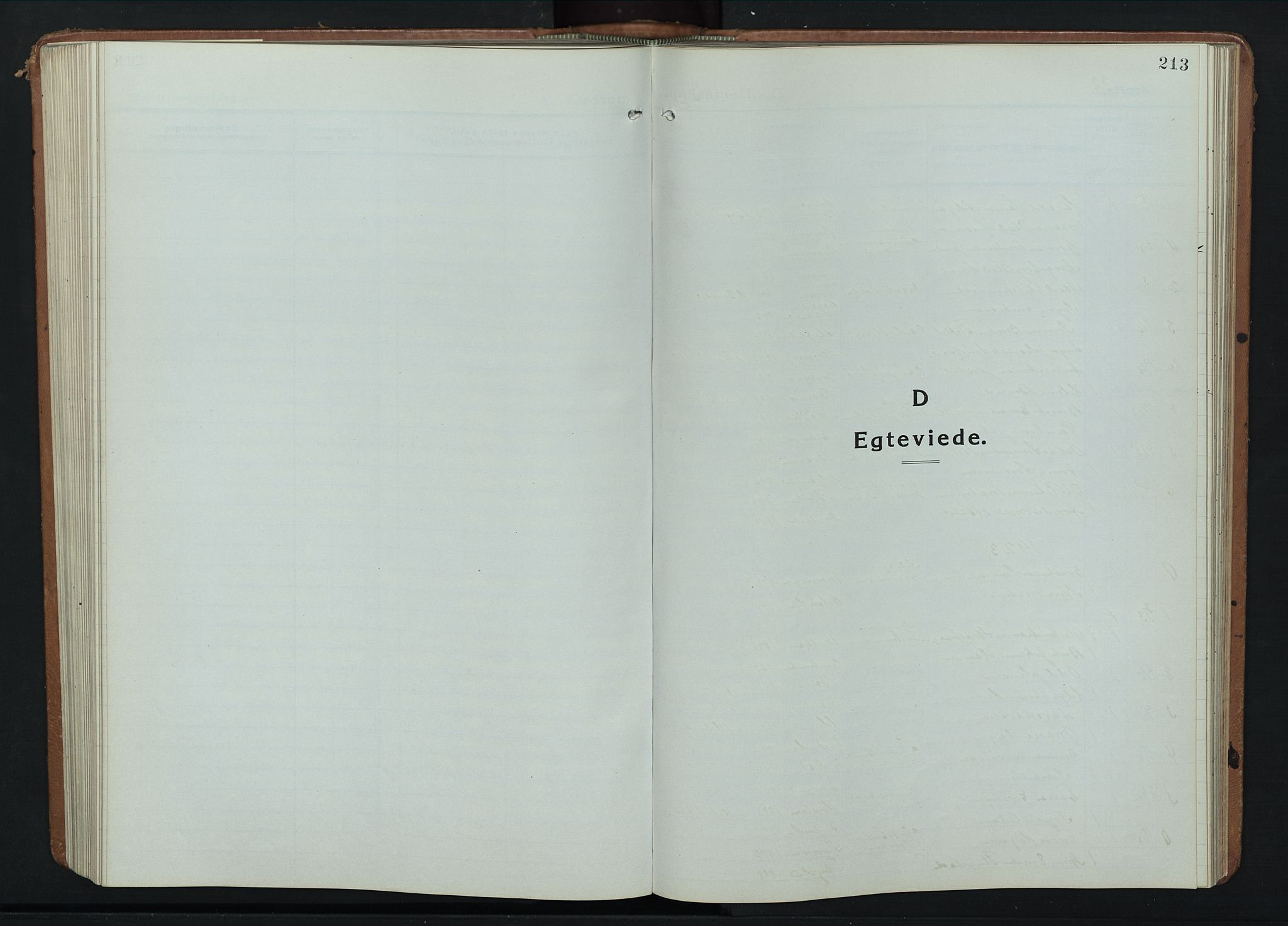 SAH, Fåberg prestekontor, Klokkerbok nr. 14, 1922-1946, s. 213