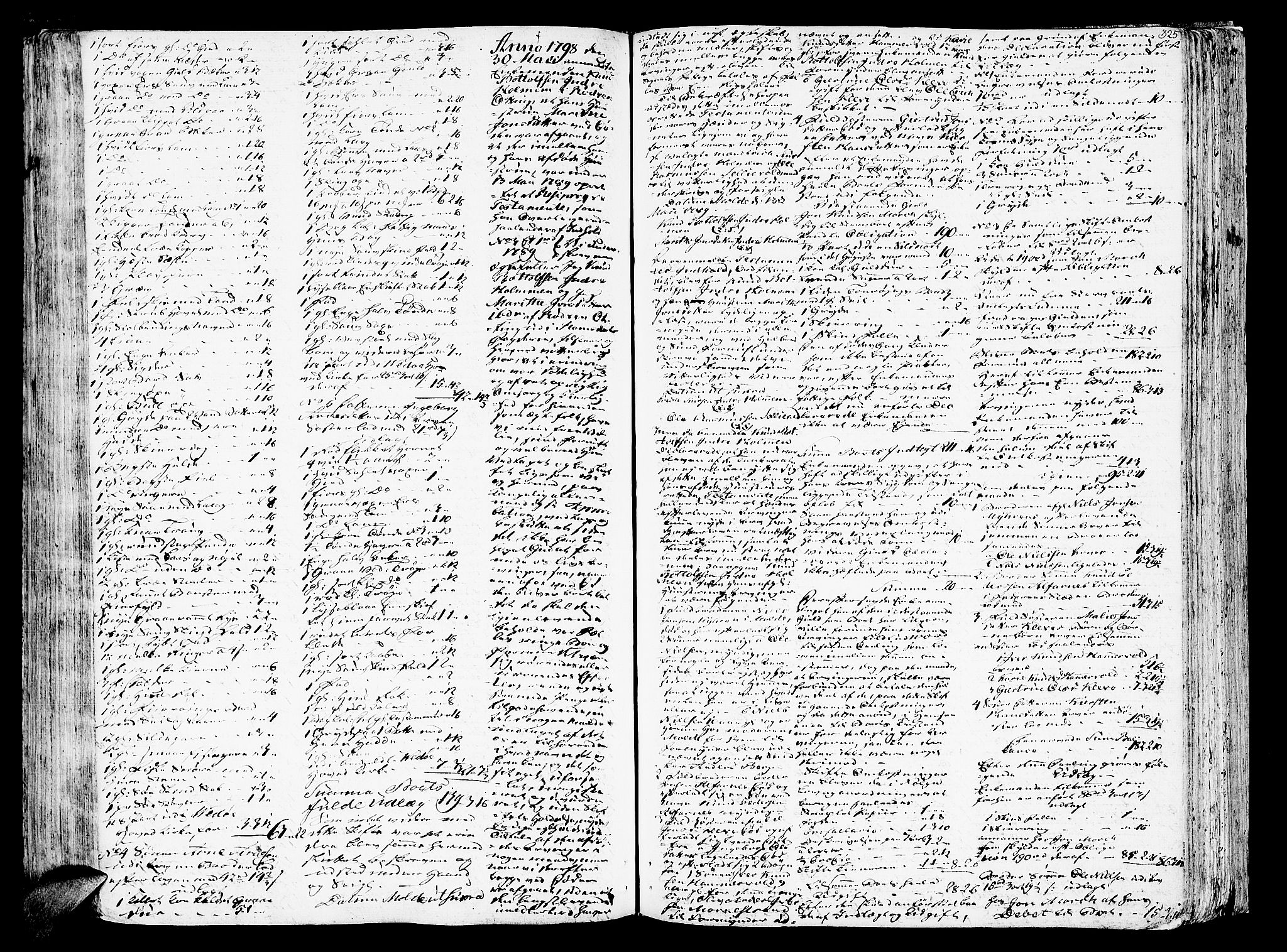 SAT, Romsdal sorenskriveri, 3/3A/L0012: Skifteprotokoll, 1789-1802, s. 324b-325a