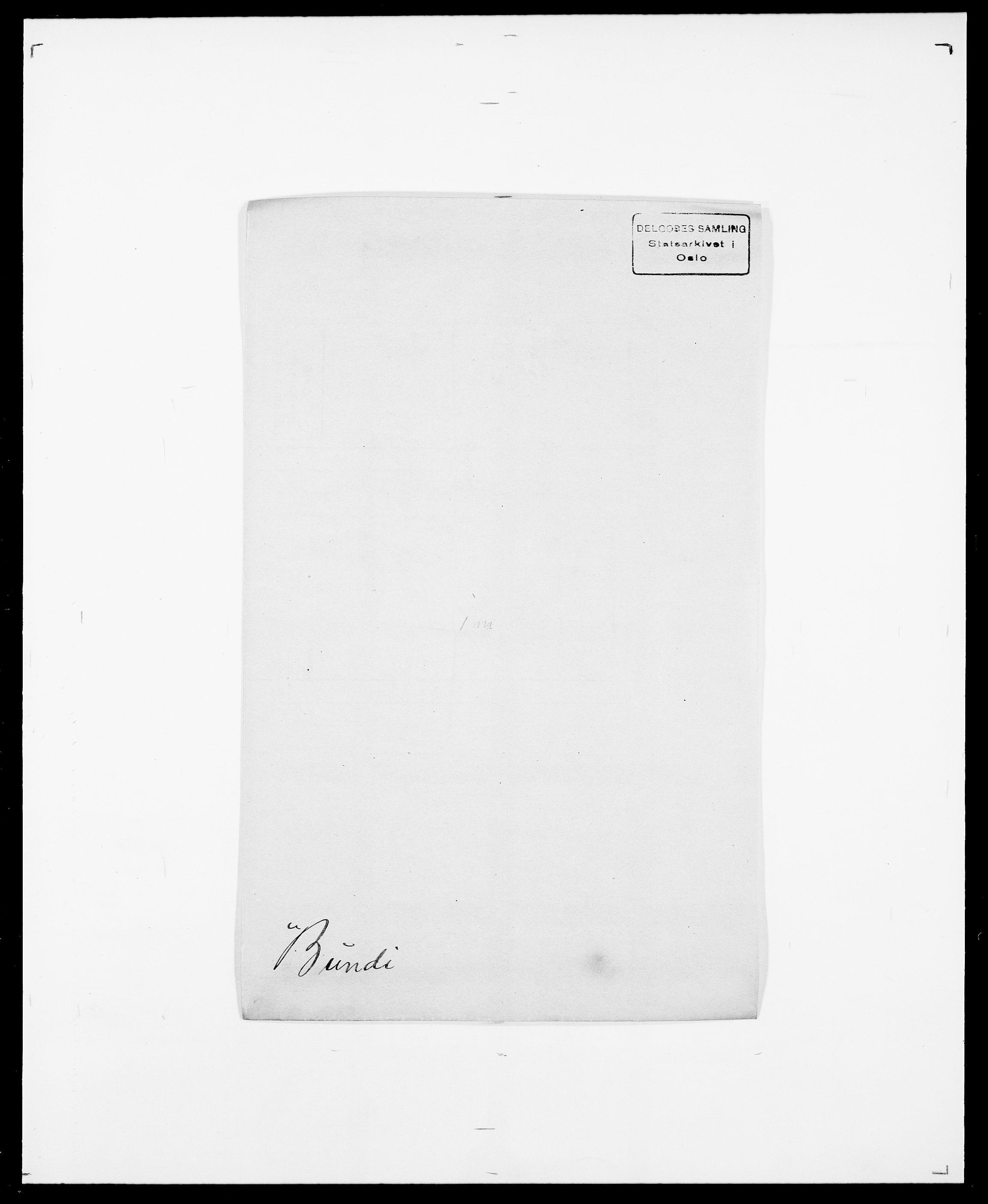 SAO, Delgobe, Charles Antoine - samling, D/Da/L0007: Buaas - Caphengst, s. 407