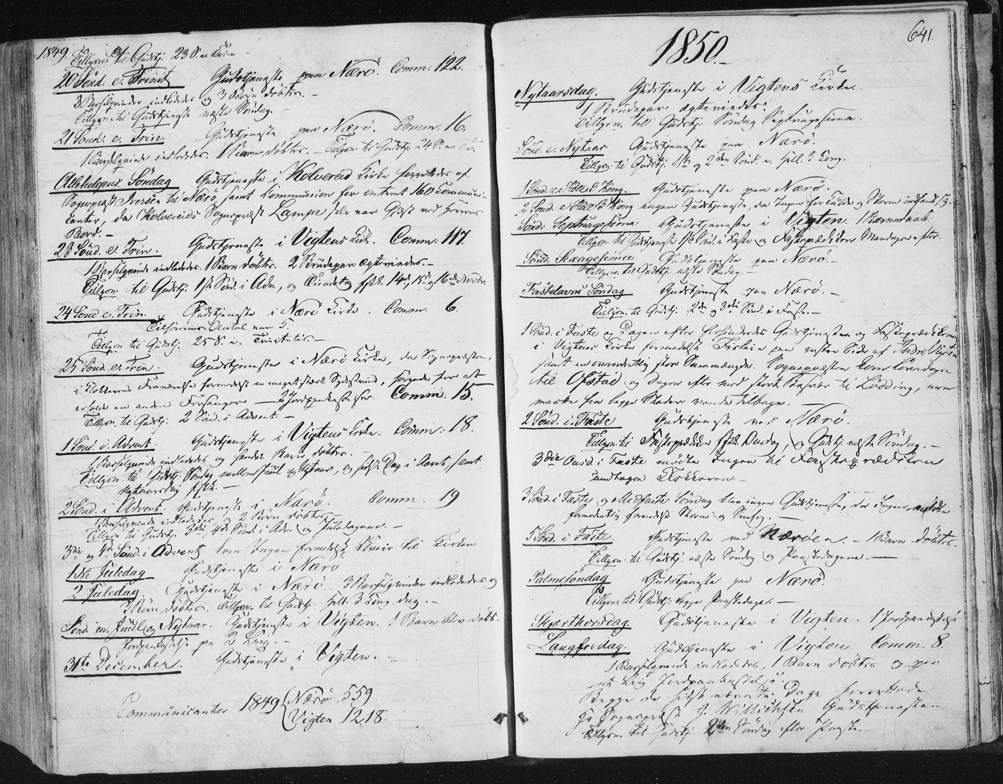 SAT, Ministerialprotokoller, klokkerbøker og fødselsregistre - Nord-Trøndelag, 784/L0669: Ministerialbok nr. 784A04, 1829-1859, s. 641
