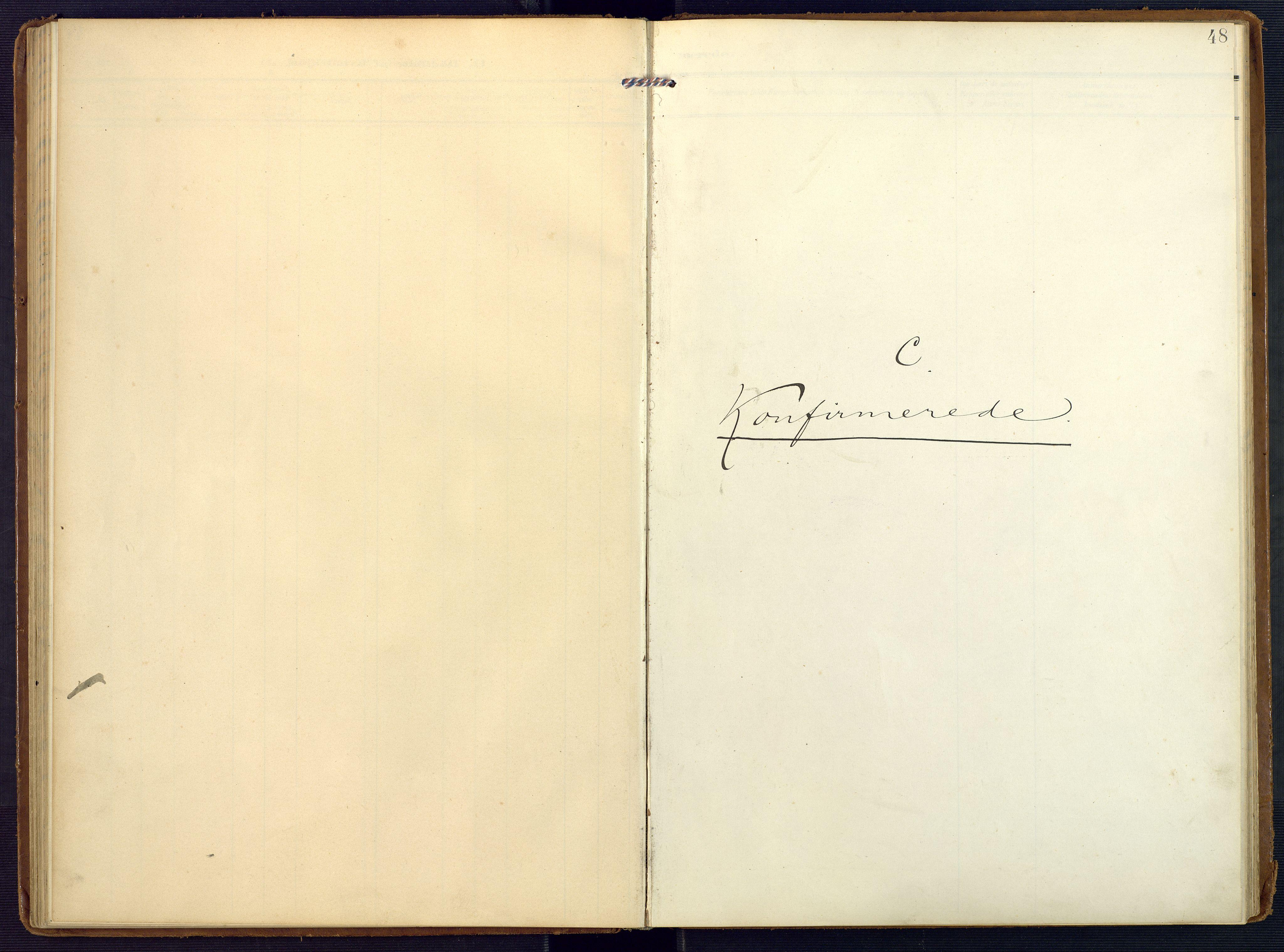 SAK, Valle sokneprestkontor, F/Fa/Faa/L0002: Ministerialbok nr. A 2, 1907-1919, s. 48