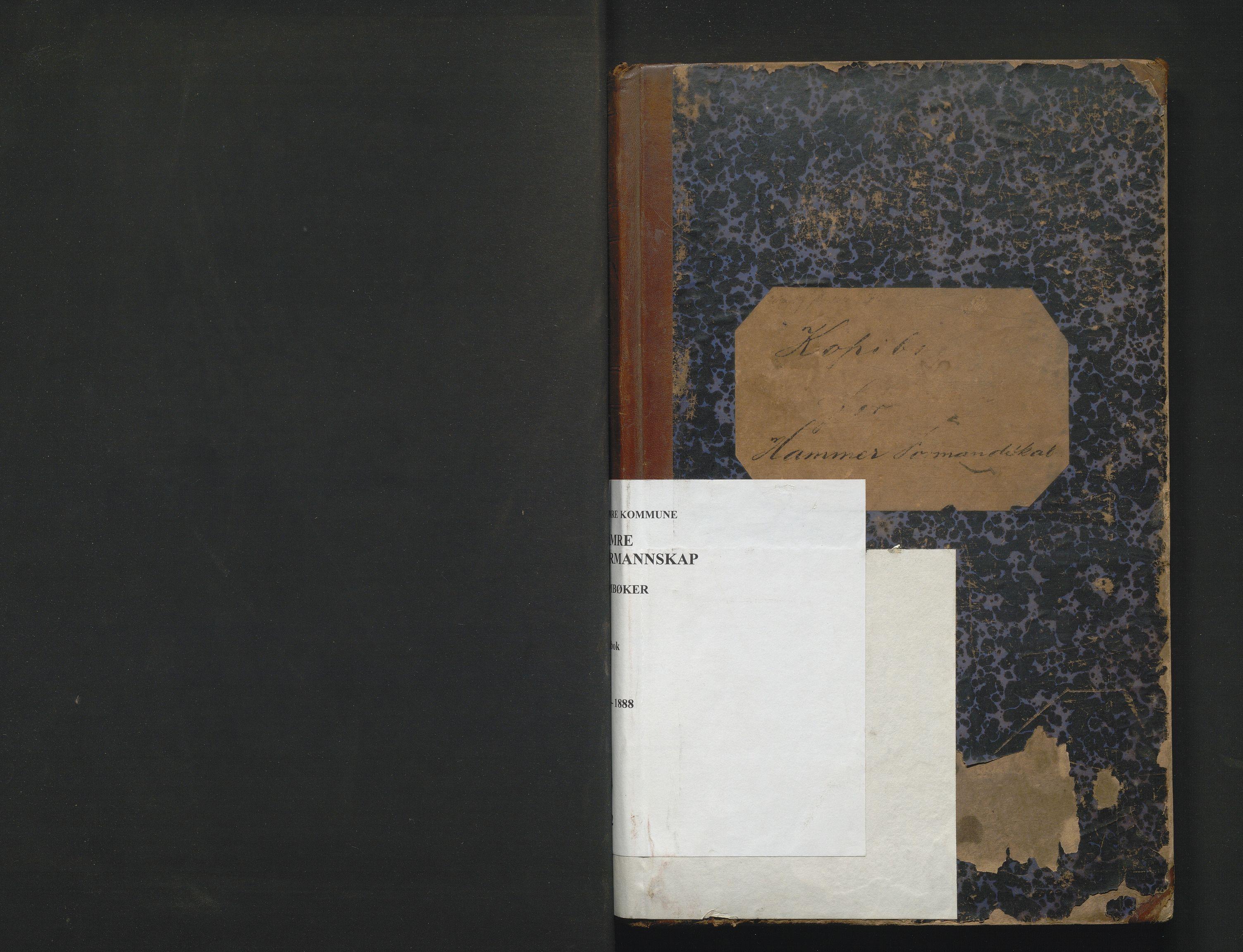 IKAH, Hamre kommune. Formannskapet, B/Ba/L0002: Kopibok for formannskapet , 1886-1888