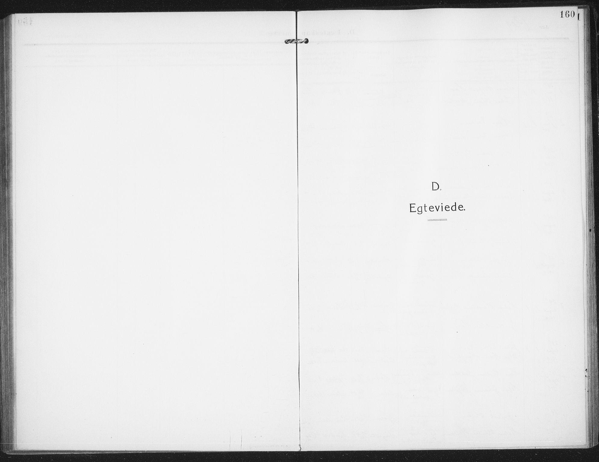 SAO, Rolvsøy prestekontor Kirkebøker, F/Fa/L0002: Ministerialbok nr. 2, 1909-1917, s. 160
