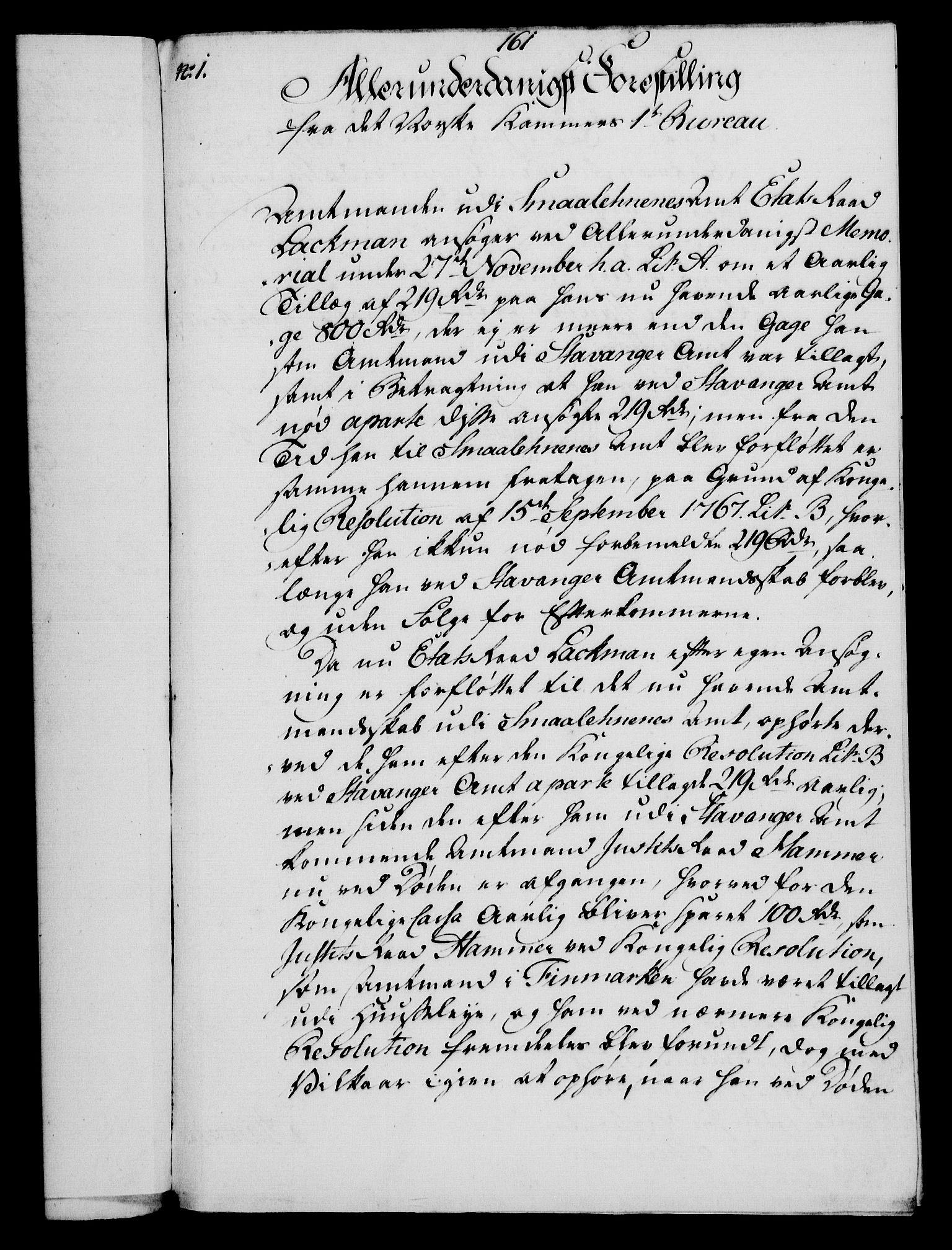 RA, Rentekammeret, Kammerkanselliet, G/Gf/Gfa/L0054: Norsk relasjons- og resolusjonsprotokoll (merket RK 52.54), 1771-1772, s. 816