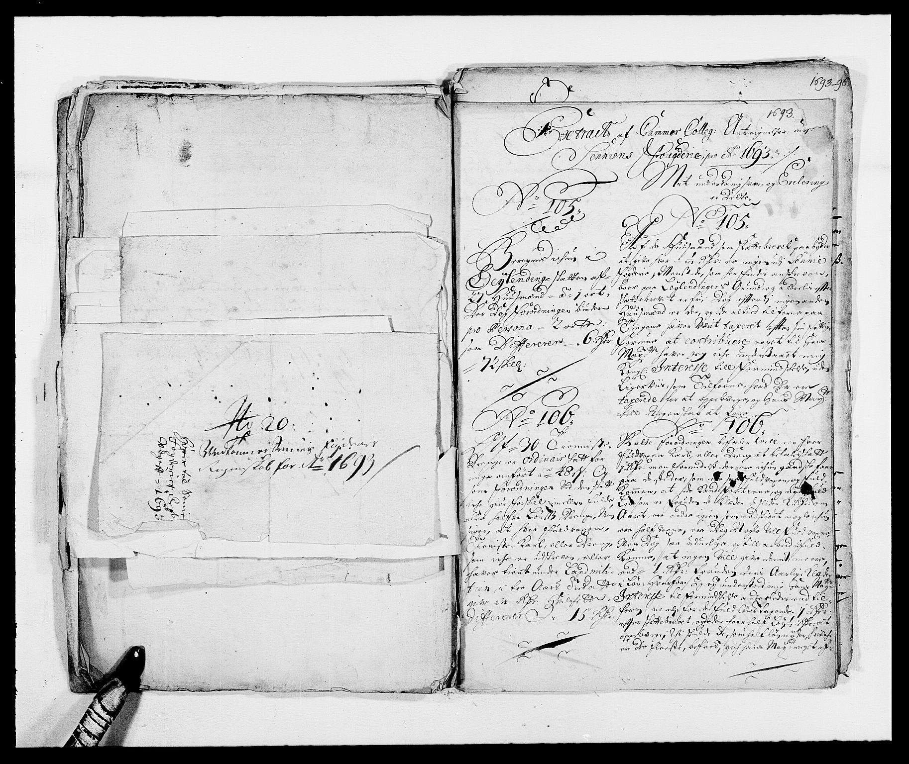 RA, Rentekammeret inntil 1814, Reviderte regnskaper, Fogderegnskap, R68/L4752: Fogderegnskap Senja og Troms, 1691-1693, s. 437