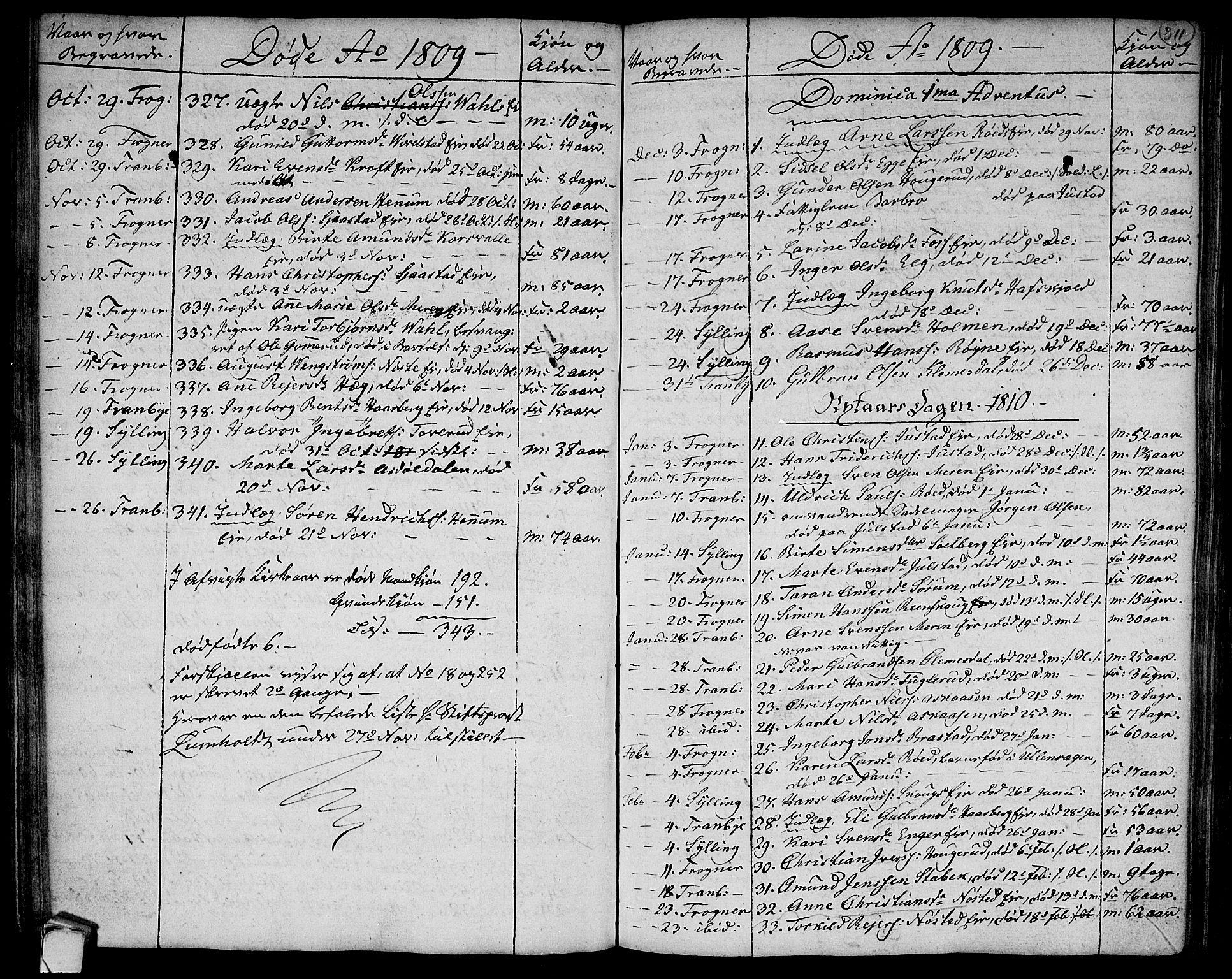 SAKO, Lier kirkebøker, F/Fa/L0007: Ministerialbok nr. I 7, 1794-1813, s. 311