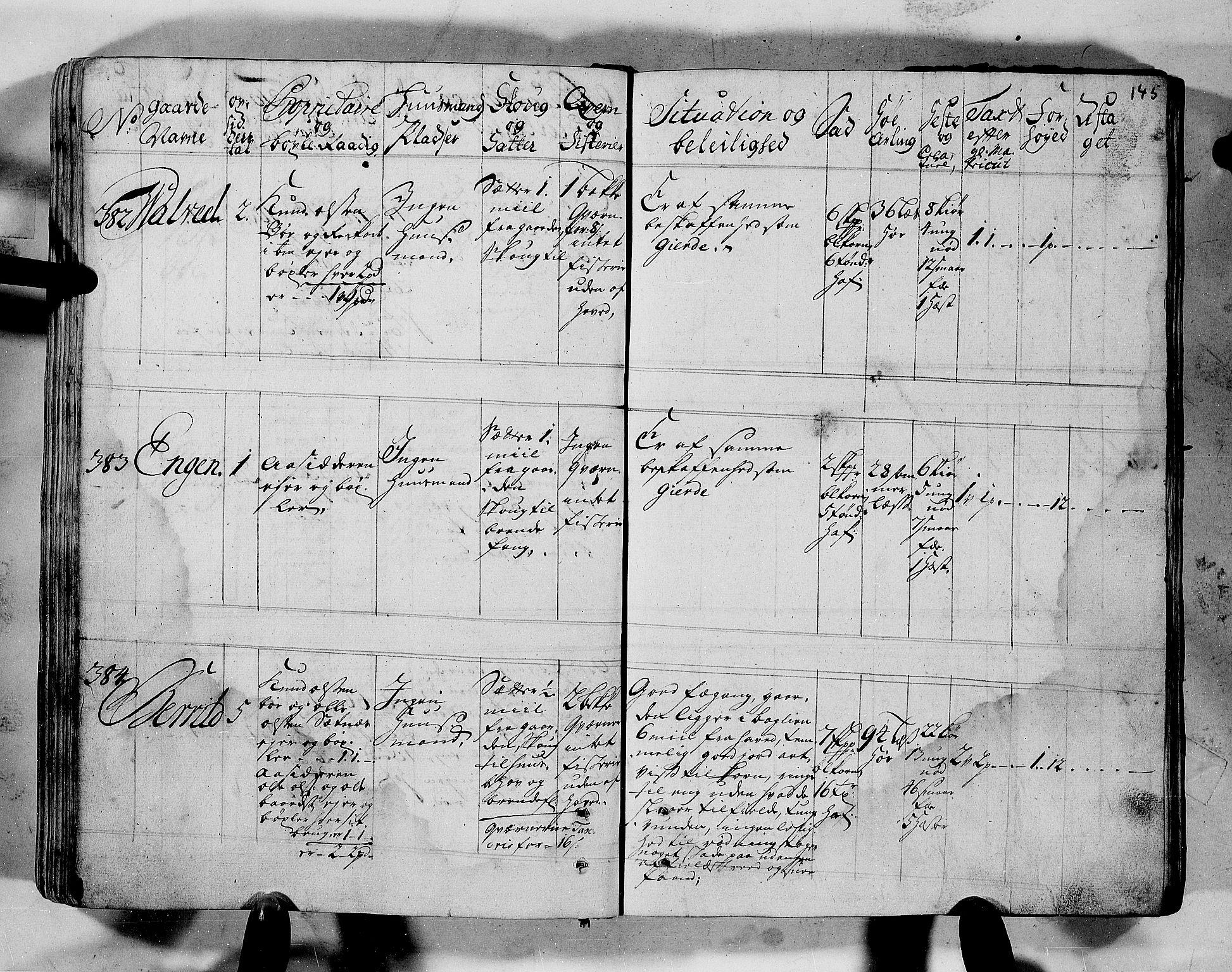 RA, Rentekammeret inntil 1814, Realistisk ordnet avdeling, N/Nb/Nbf/L0152: Romsdal eksaminasjonsprotokoll, 1724, s. 143