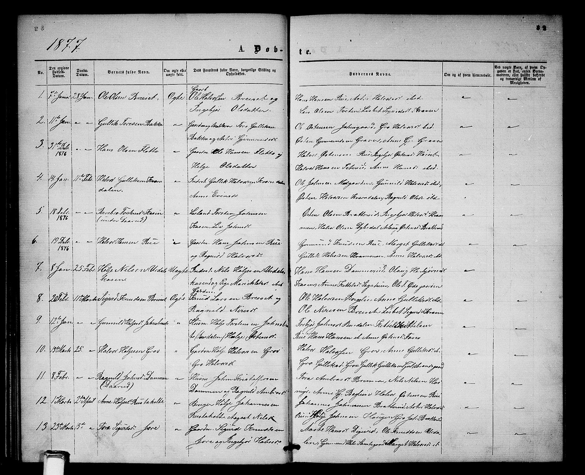 SAKO, Gransherad kirkebøker, G/Gb/L0002: Klokkerbok nr. II 2, 1860-1886, s. 32