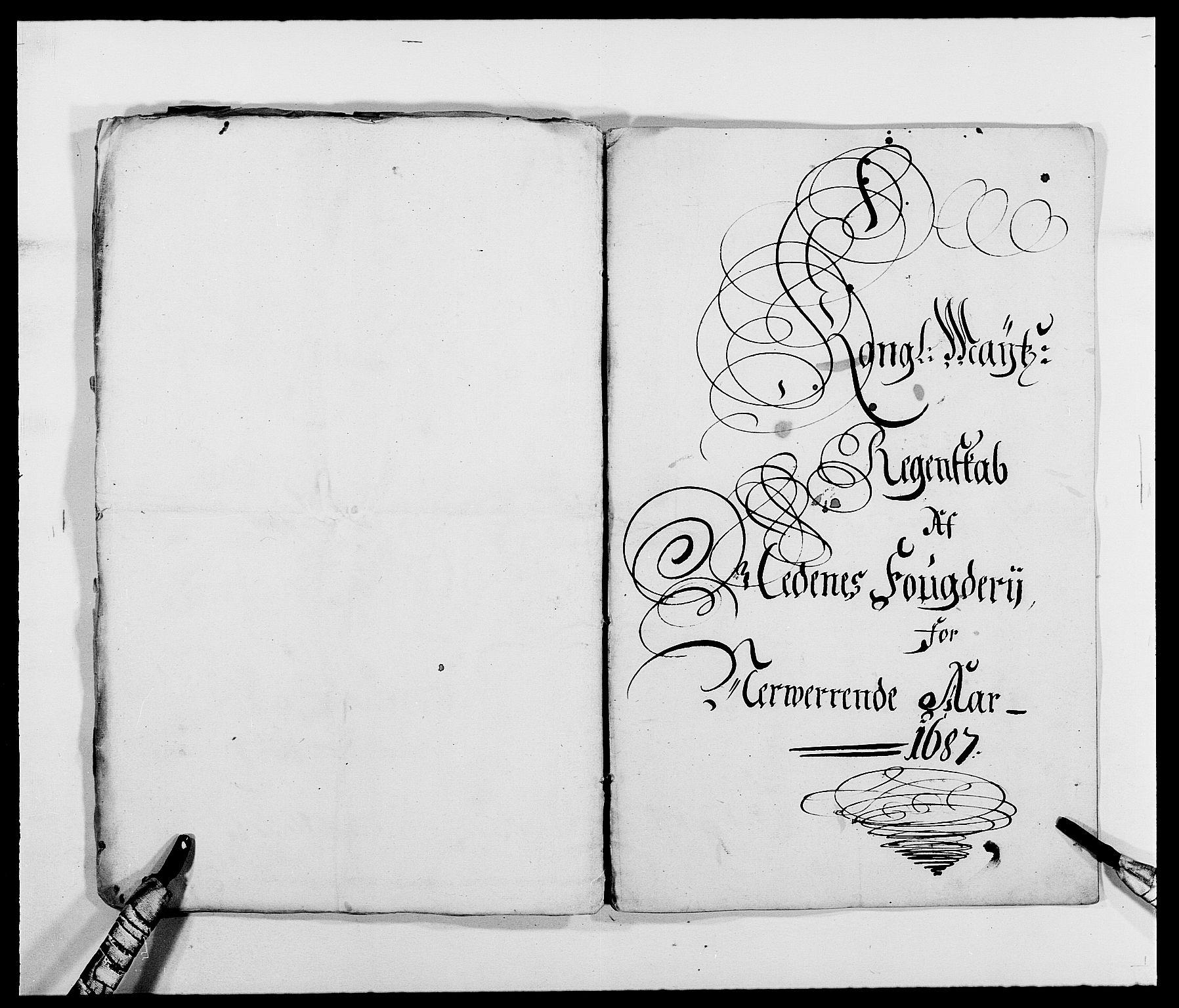 RA, Rentekammeret inntil 1814, Reviderte regnskaper, Fogderegnskap, R39/L2307: Fogderegnskap Nedenes, 1684-1689, s. 34