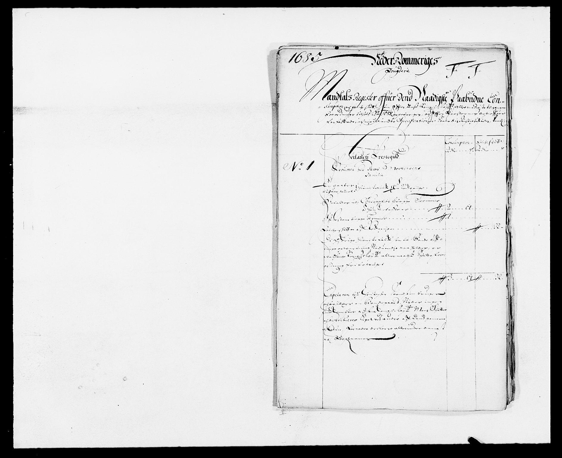 RA, Rentekammeret inntil 1814, Reviderte regnskaper, Fogderegnskap, R11/L0571: Fogderegnskap Nedre Romerike, 1683-1685, s. 498