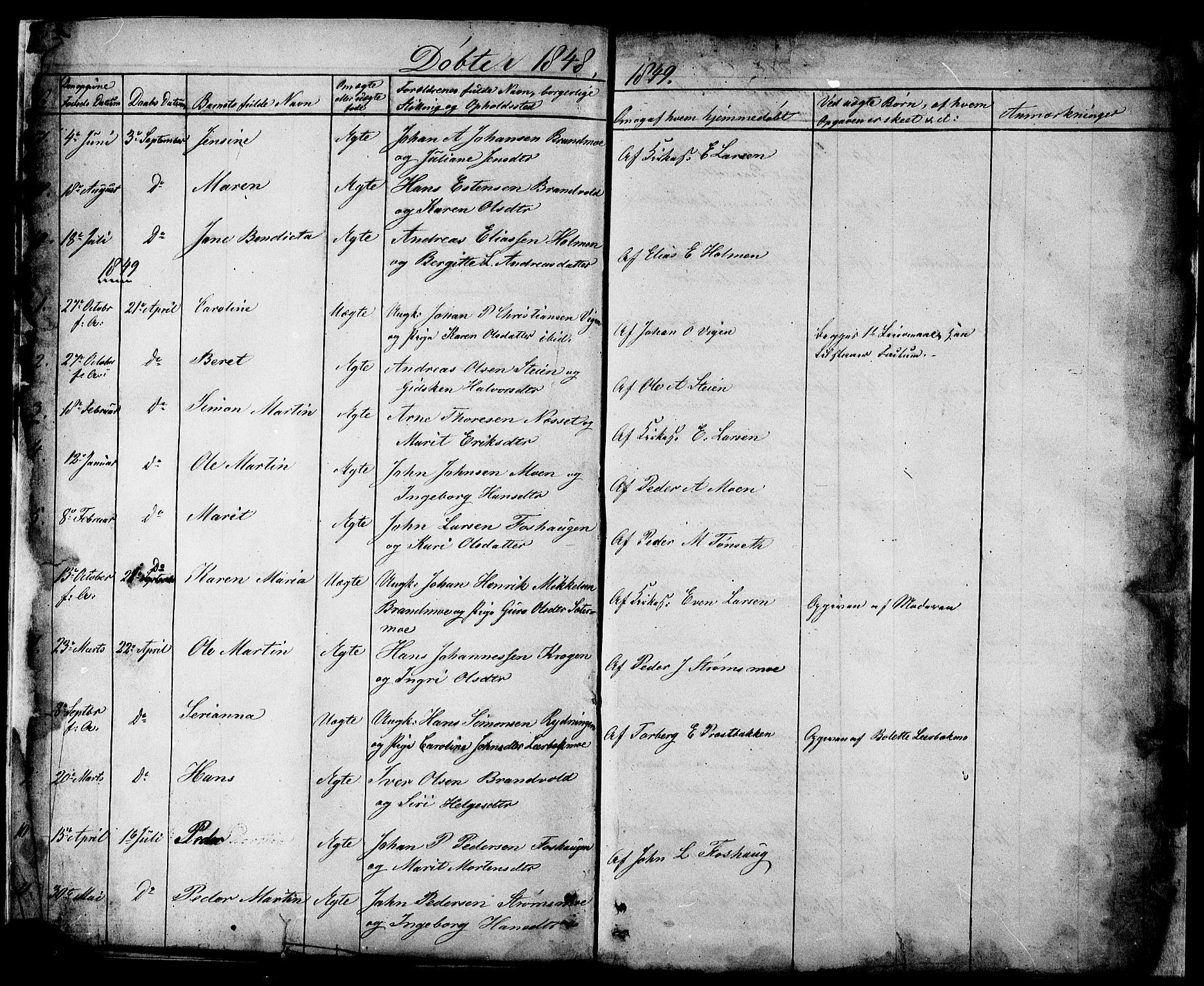SATØ, Målselv sokneprestembete, Ministerialbok nr. 2, 1832-1850, s. 32-33
