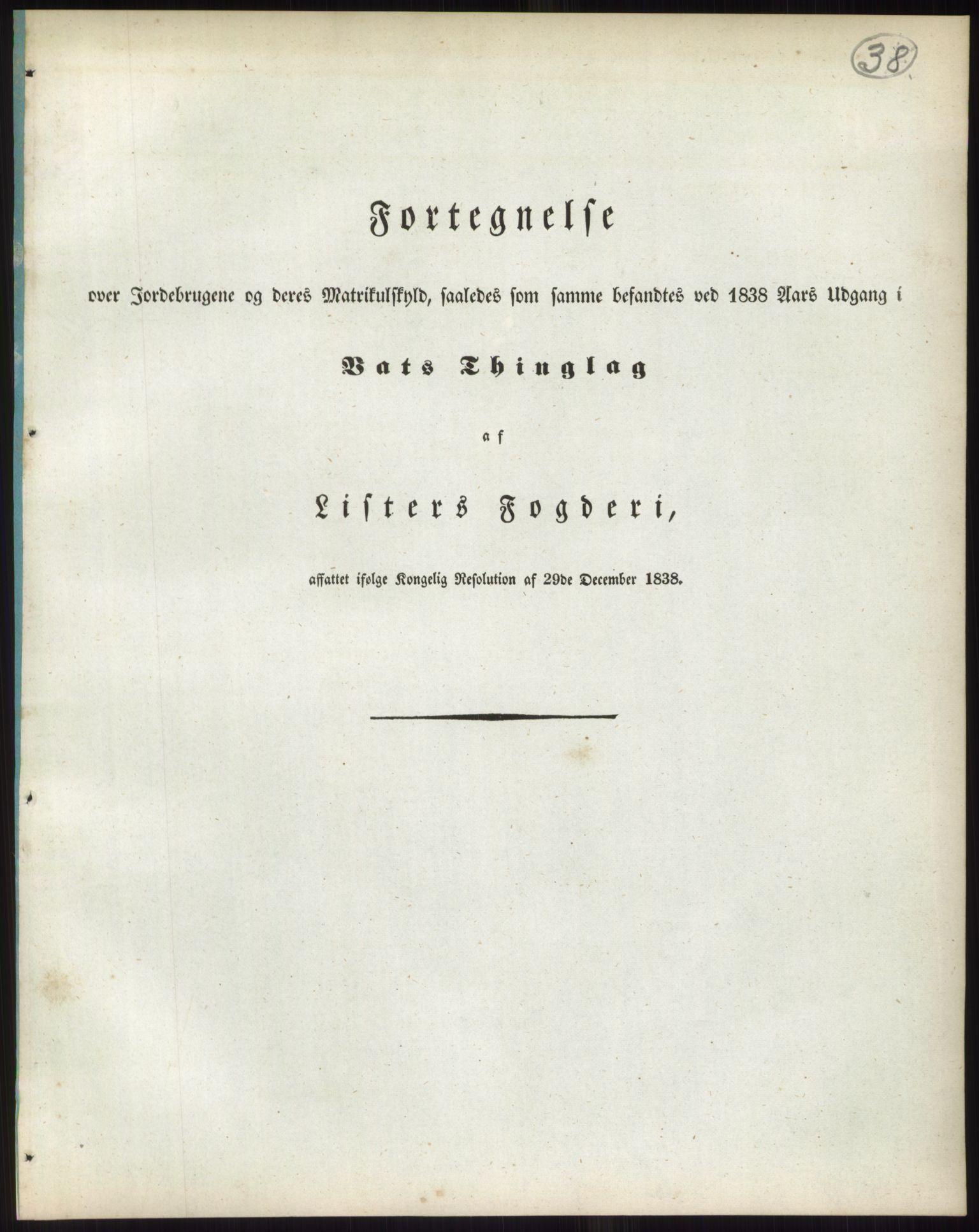RA, 1838-matrikkelen (publikasjon)*, 1838, s. 38