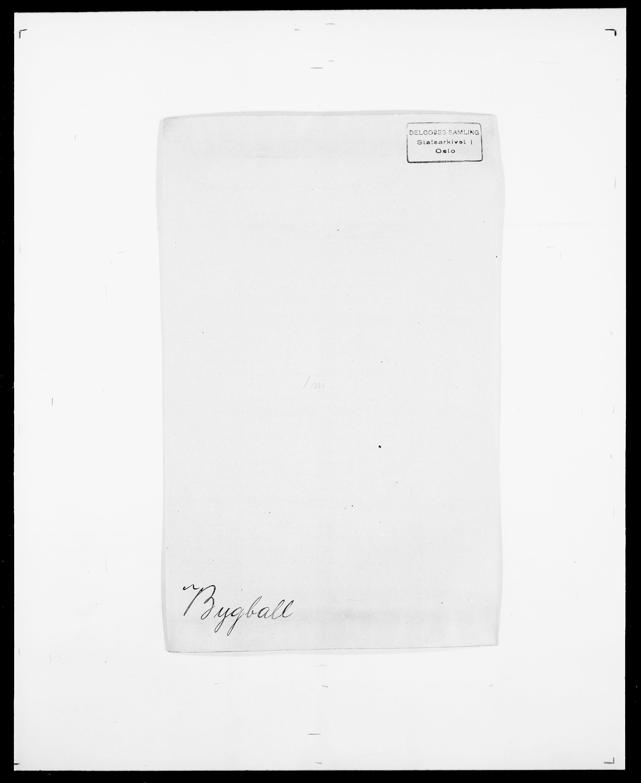 SAO, Delgobe, Charles Antoine - samling, D/Da/L0007: Buaas - Caphengst, s. 509