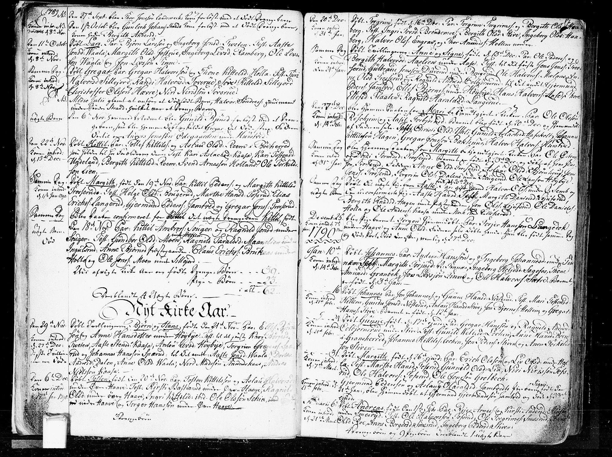 SAKO, Heddal kirkebøker, F/Fa/L0004: Ministerialbok nr. I 4, 1784-1814, s. 17