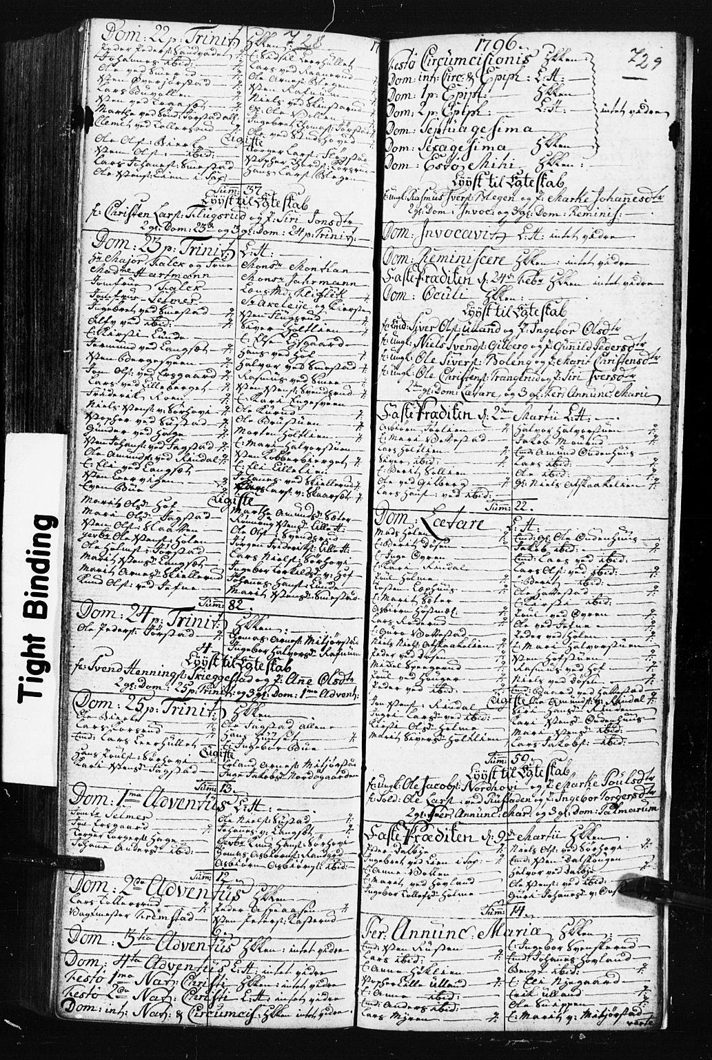 SAH, Fåberg prestekontor, Klokkerbok nr. 3, 1768-1796, s. 728-729