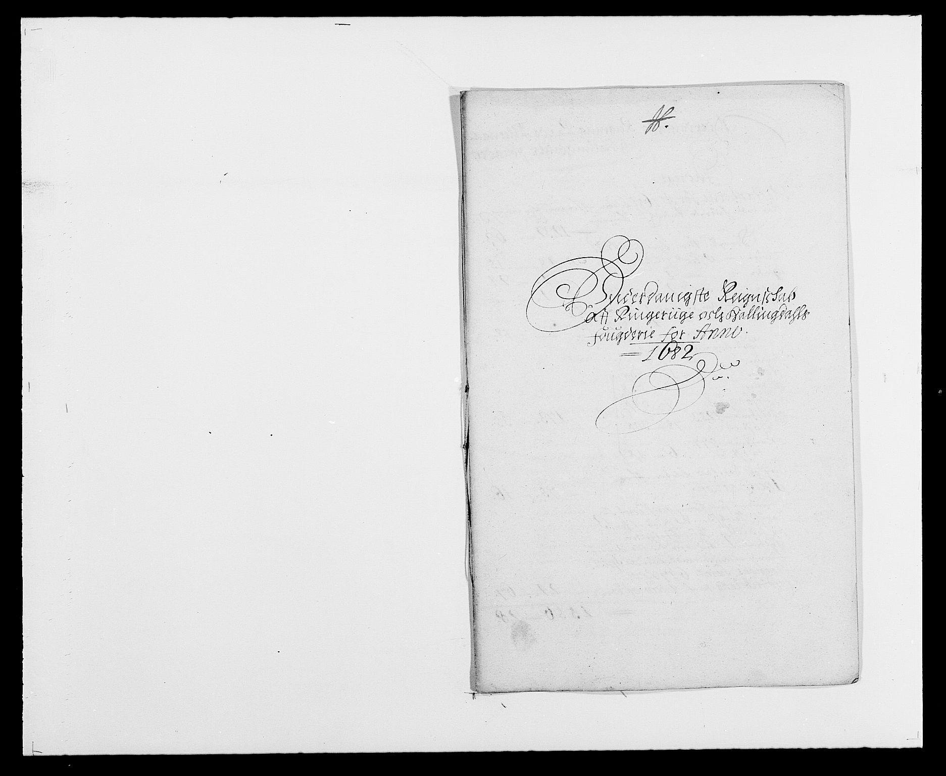 RA, Rentekammeret inntil 1814, Reviderte regnskaper, Fogderegnskap, R21/L1445: Fogderegnskap Ringerike og Hallingdal, 1681-1689, s. 222