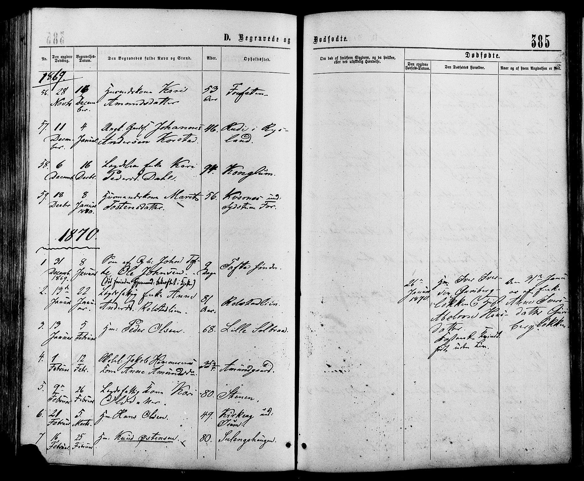 SAH, Sør-Fron prestekontor, H/Ha/Haa/L0002: Ministerialbok nr. 2, 1864-1880, s. 385