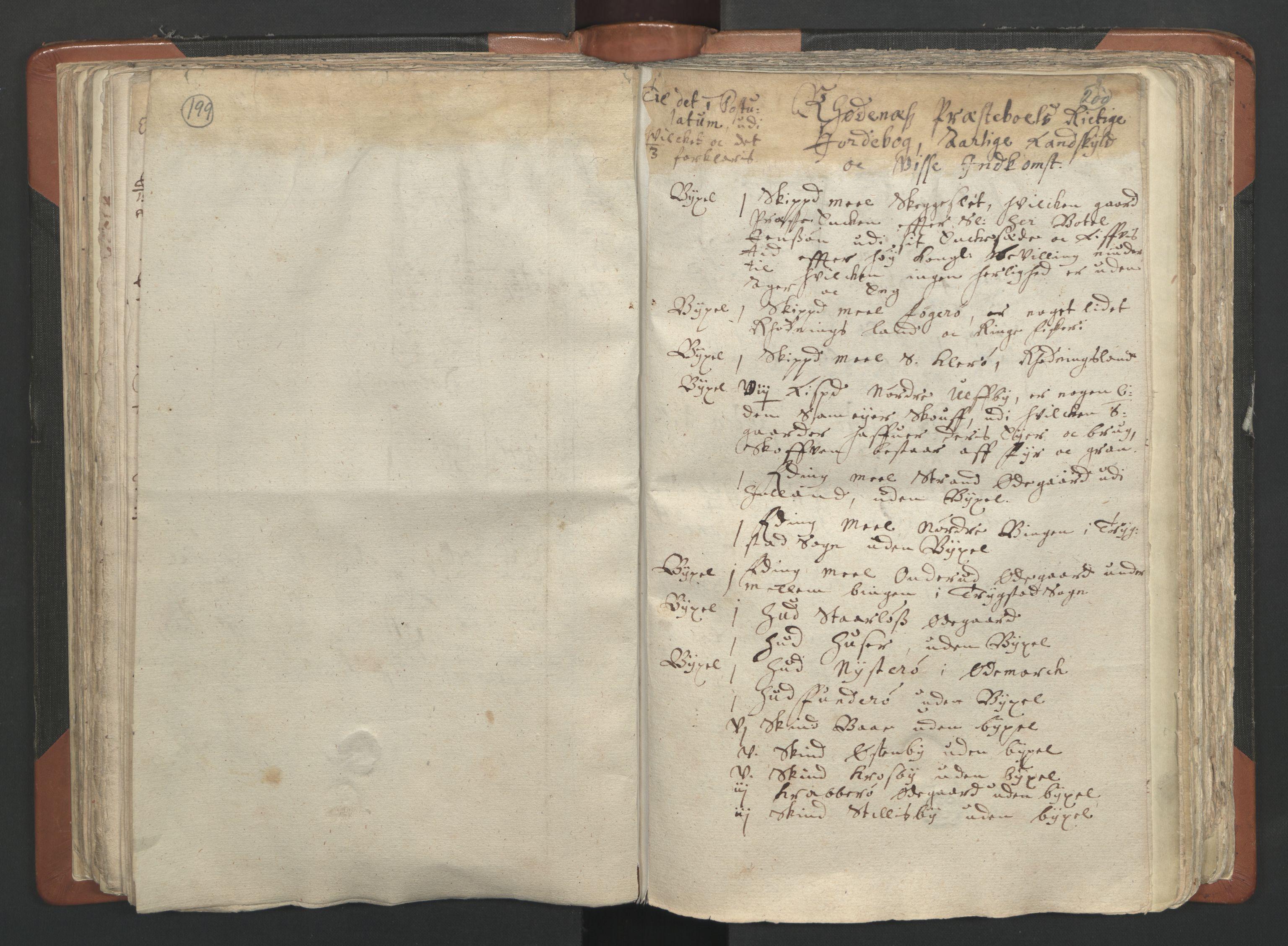 RA, Sogneprestenes manntall 1664-1666, nr. 2: Øvre Borgesyssel prosti, 1664-1666, s. 199-200